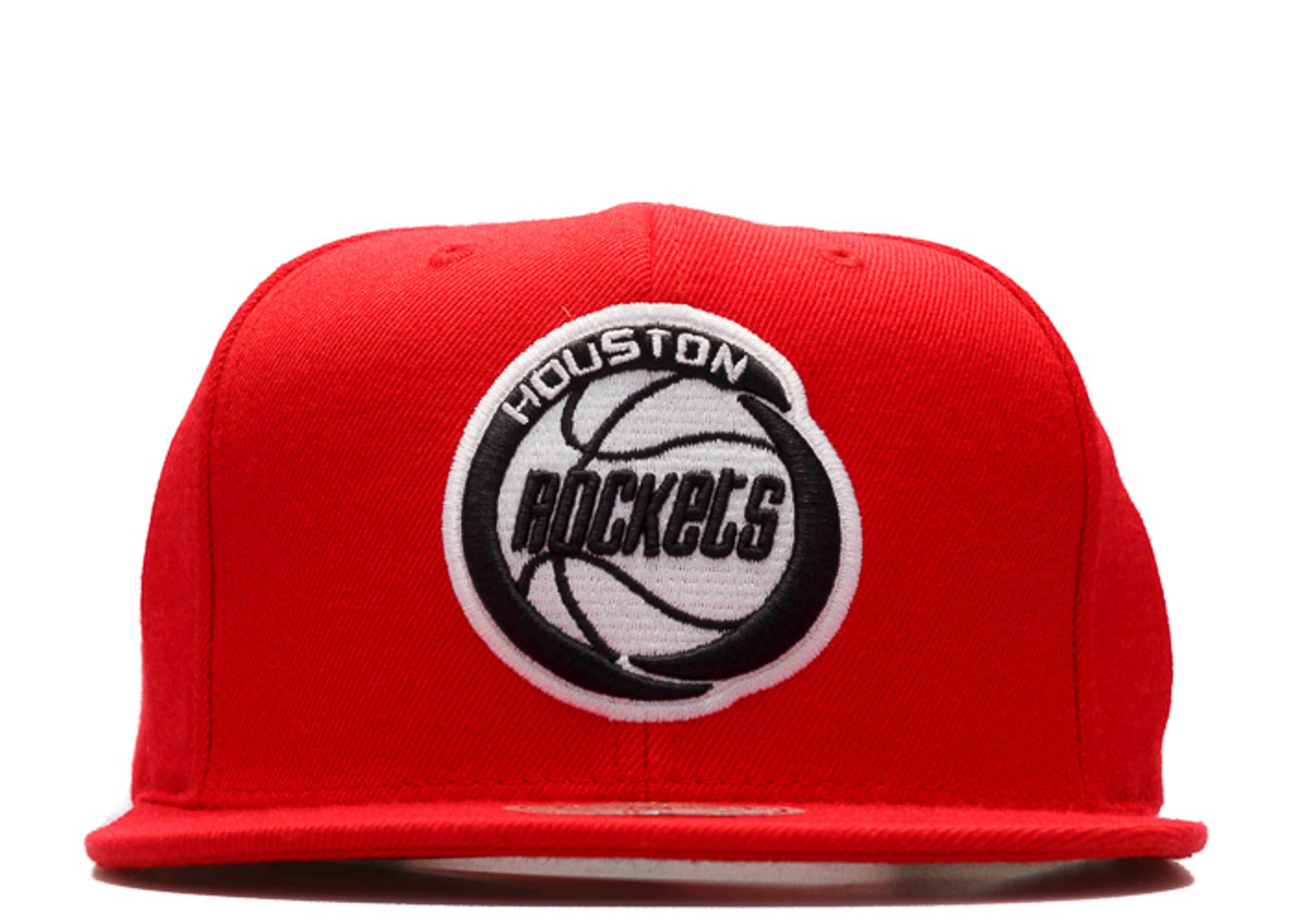 new arrival c0bd3 f9133 mitchell   ness. houston rockets snap-back