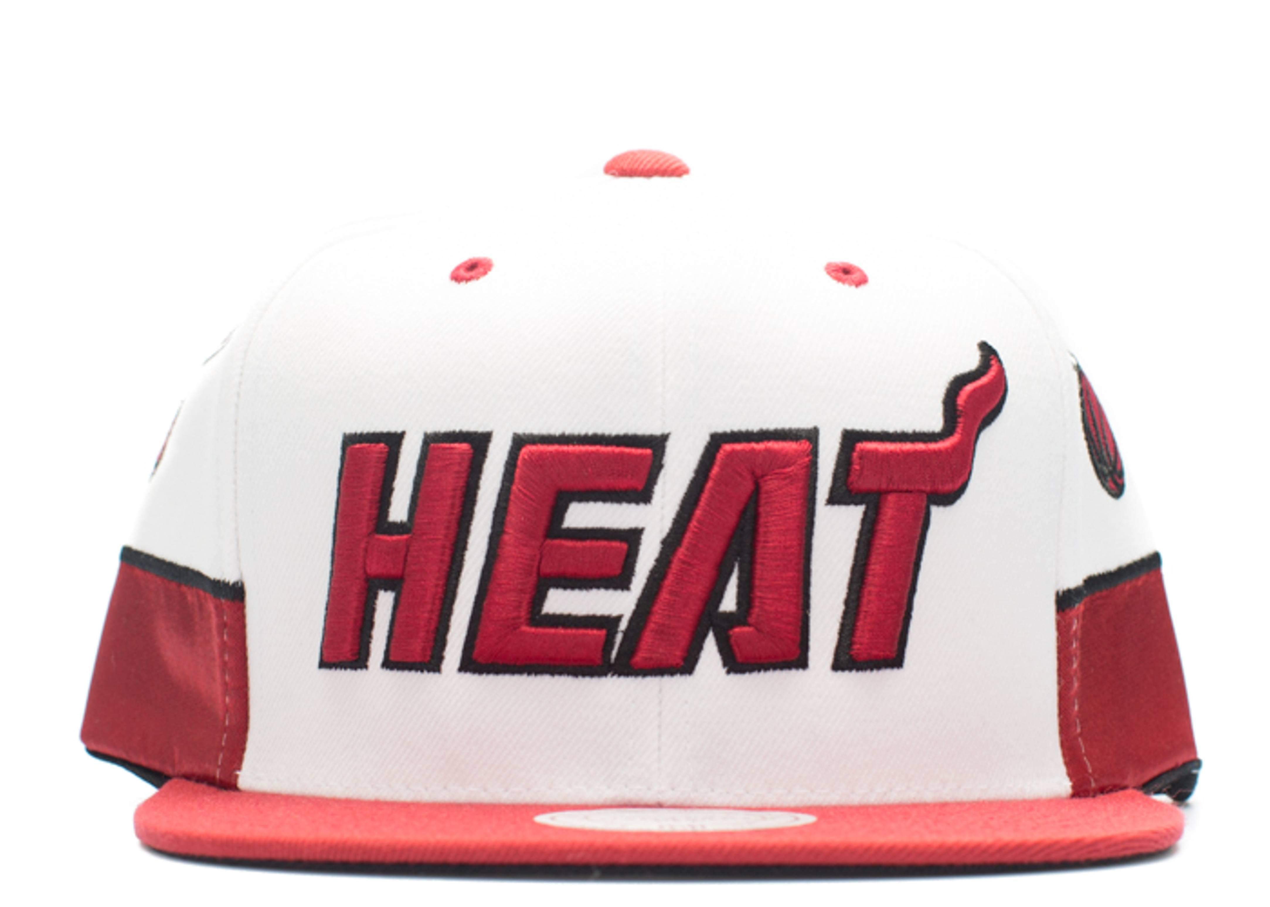 miami heat snap-back