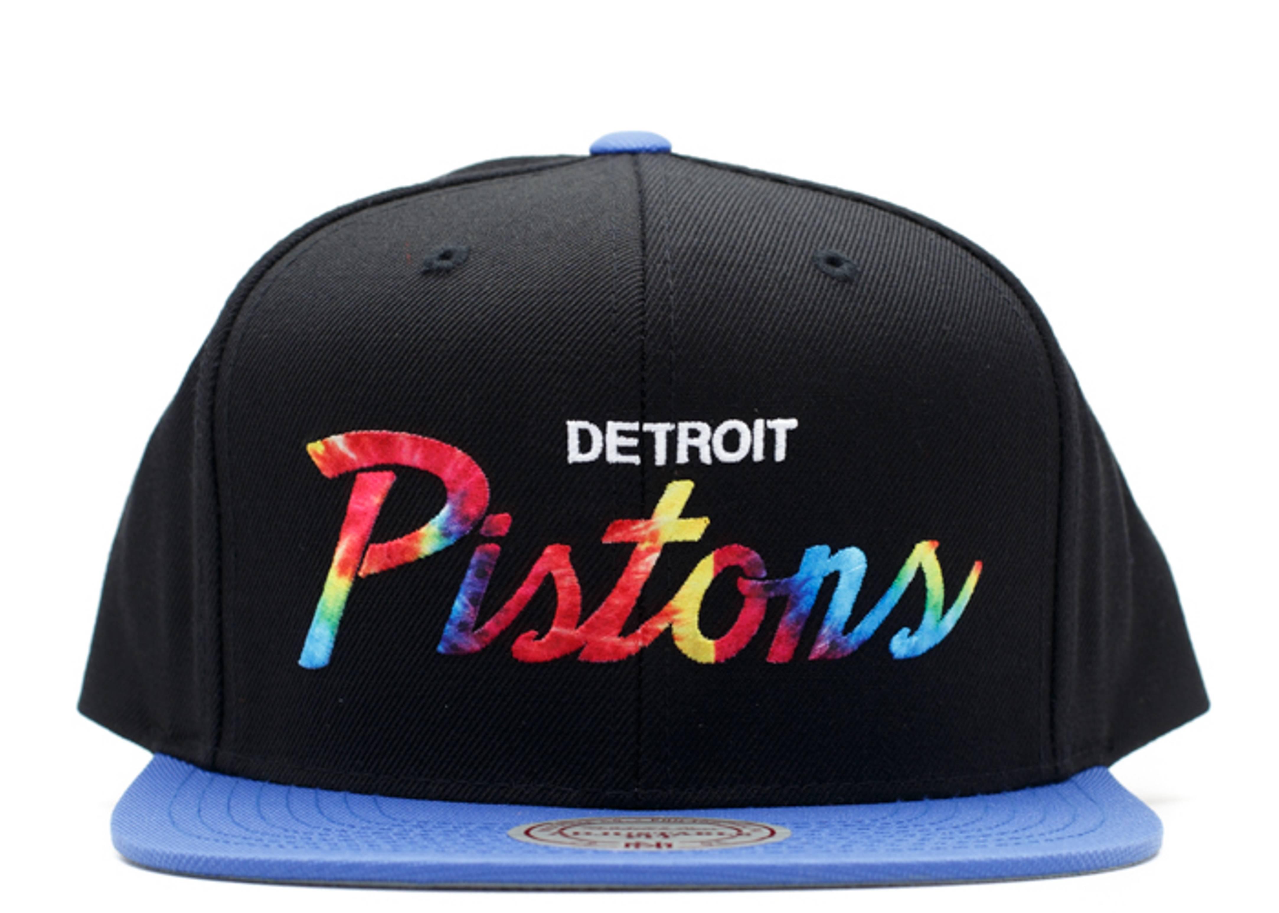 """detroit pistons snap-back """"tie-dye"""""""
