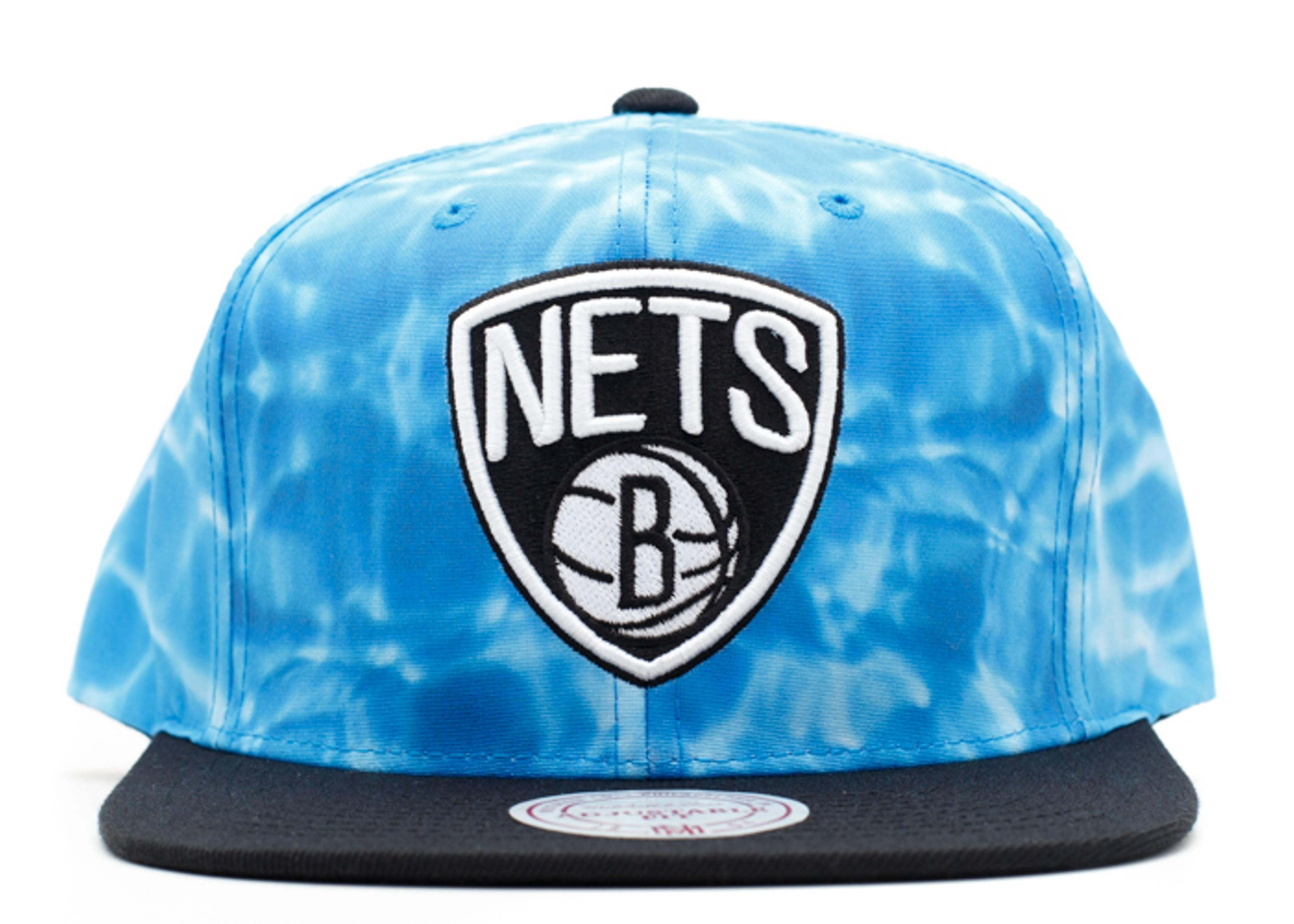 "brooklyn nets snap-back ""surf camo"""