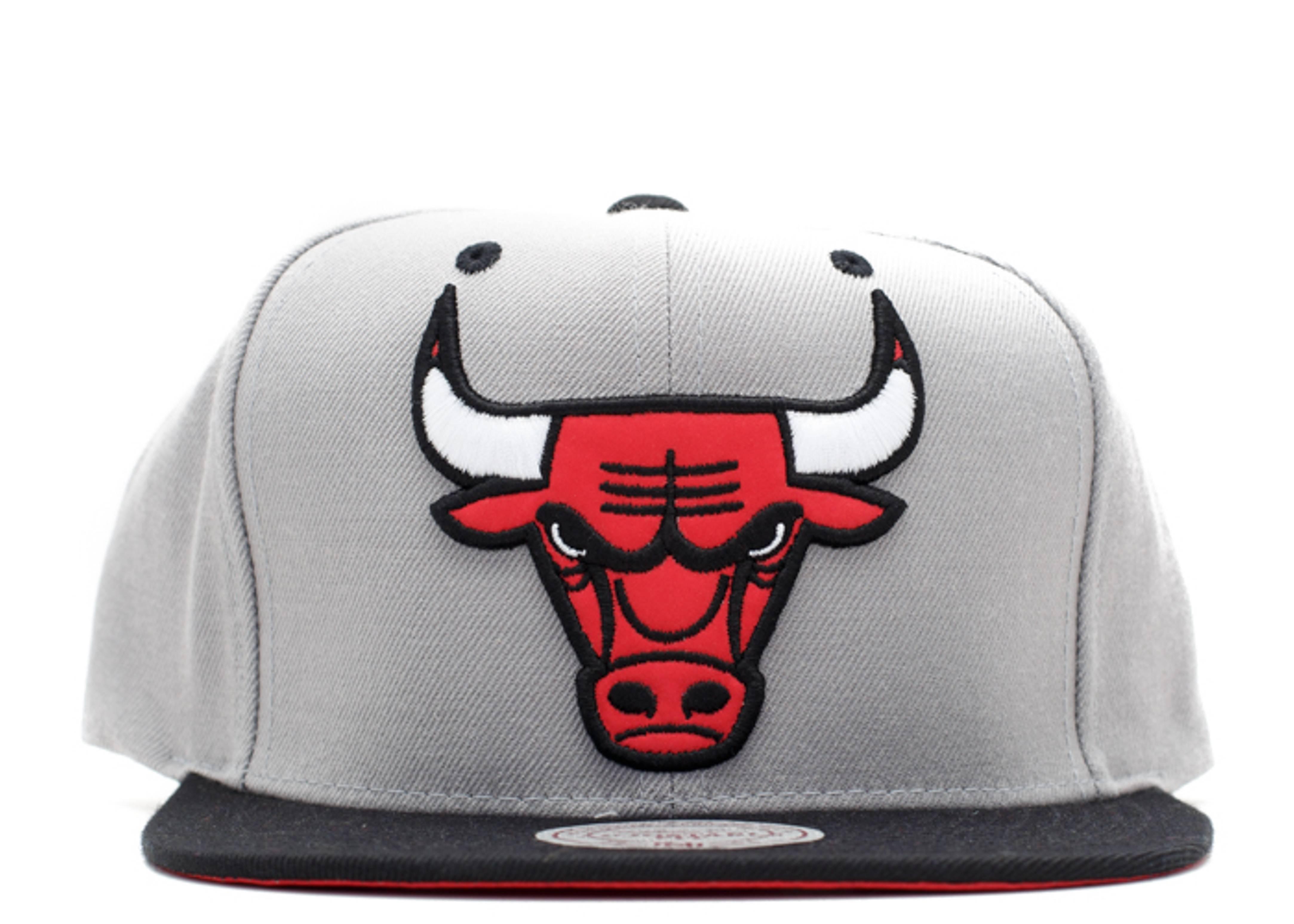 "chicago bulls snap-back ""3m logo"""