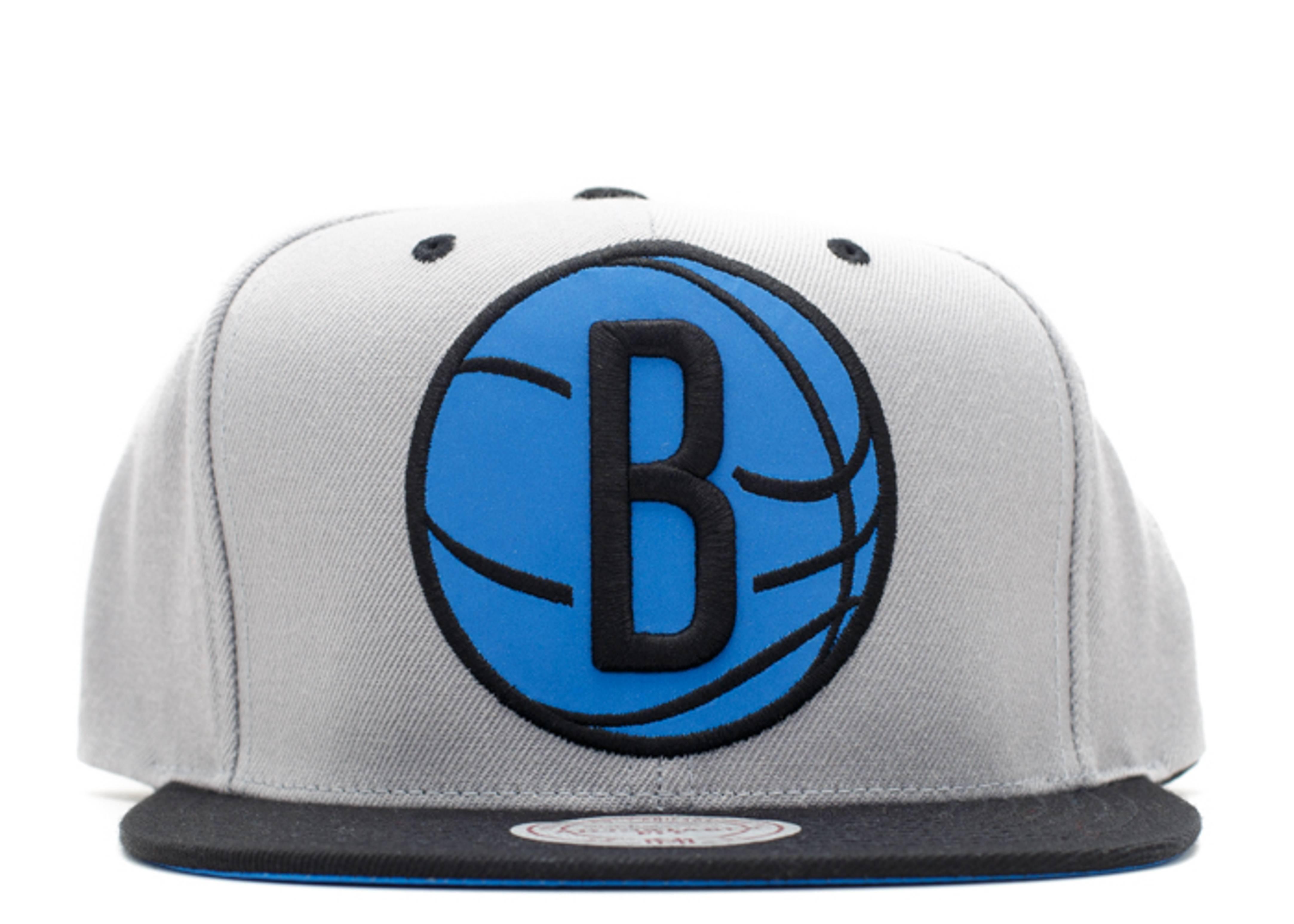 "brooklyn nets snap-back ""xl 3m logo"""