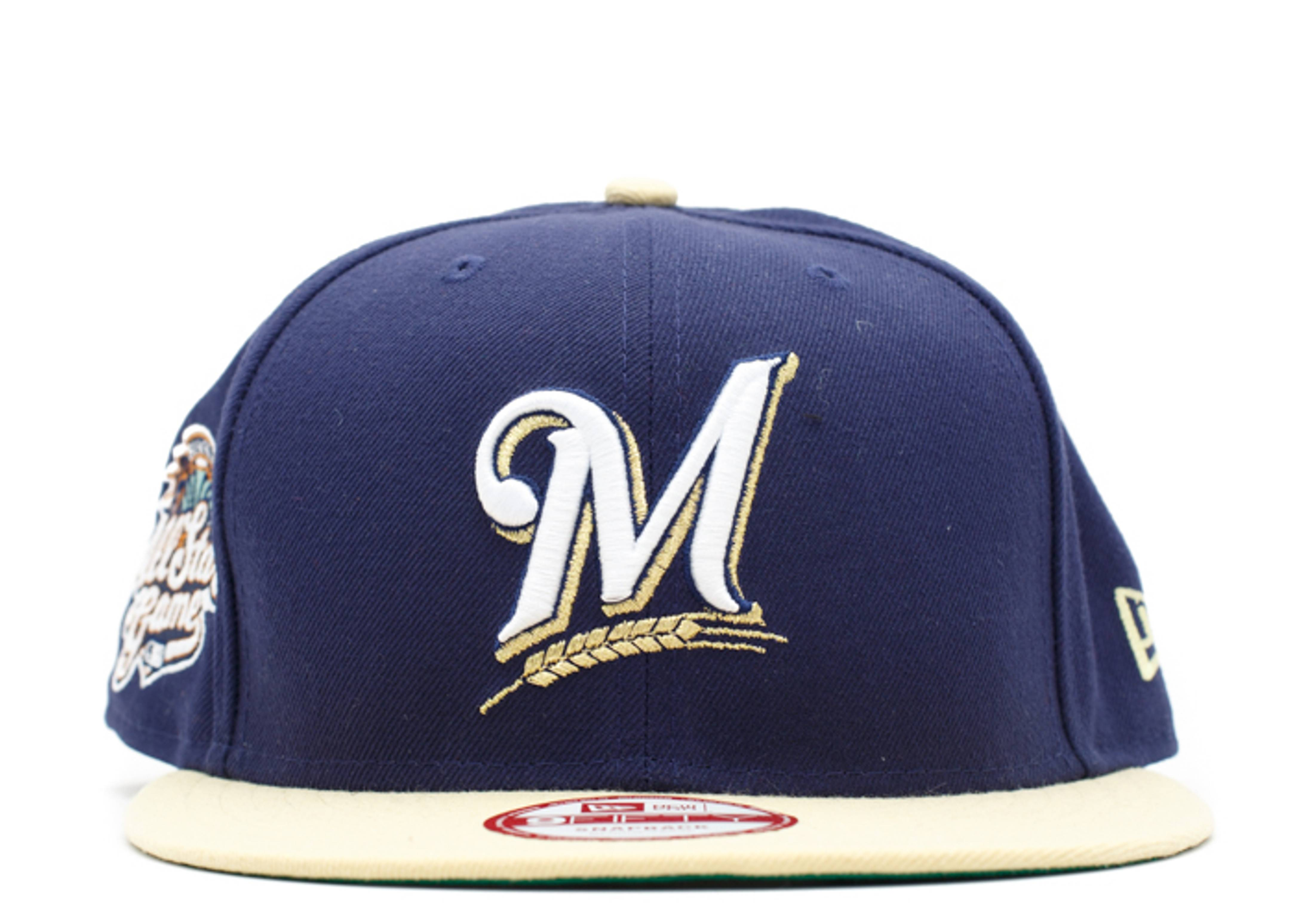 """milwaukee brewers snap-back """"2002 all star game"""""""