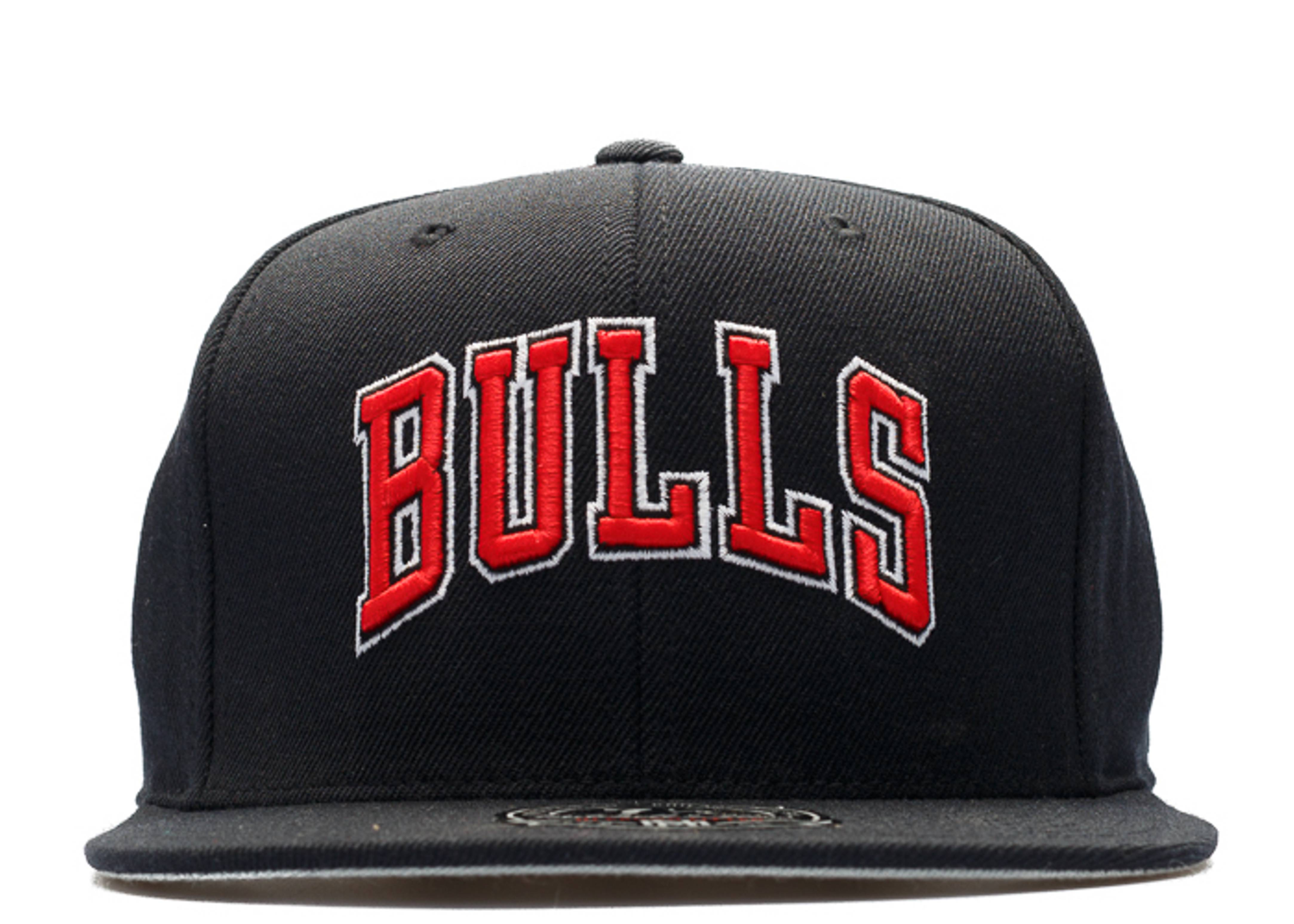 chicago bulls high crown fitted