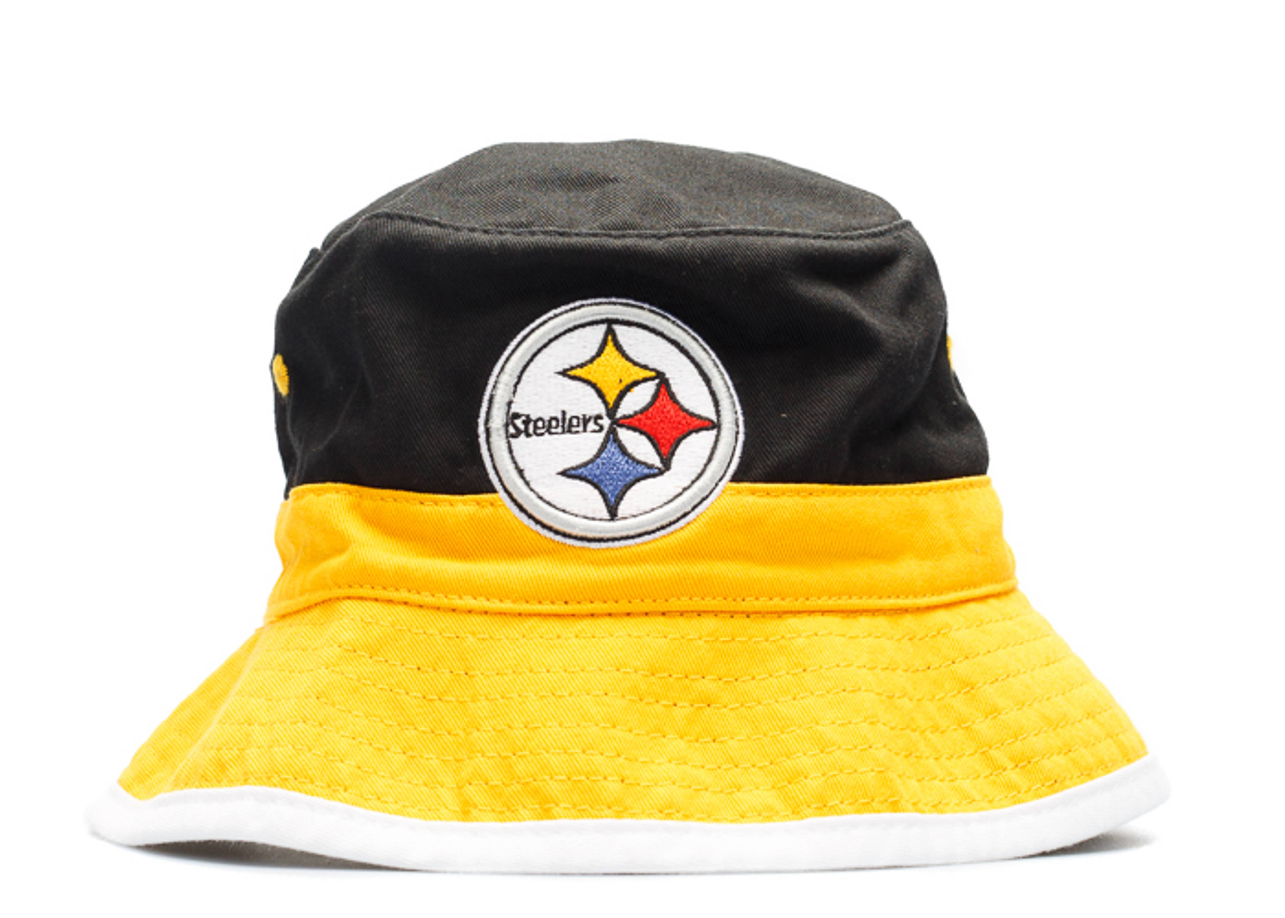 c7f3f8dd6ef Pittsburgh Steelers Bucket Hat - Mitchell   Ness - u131mtc6steel ...