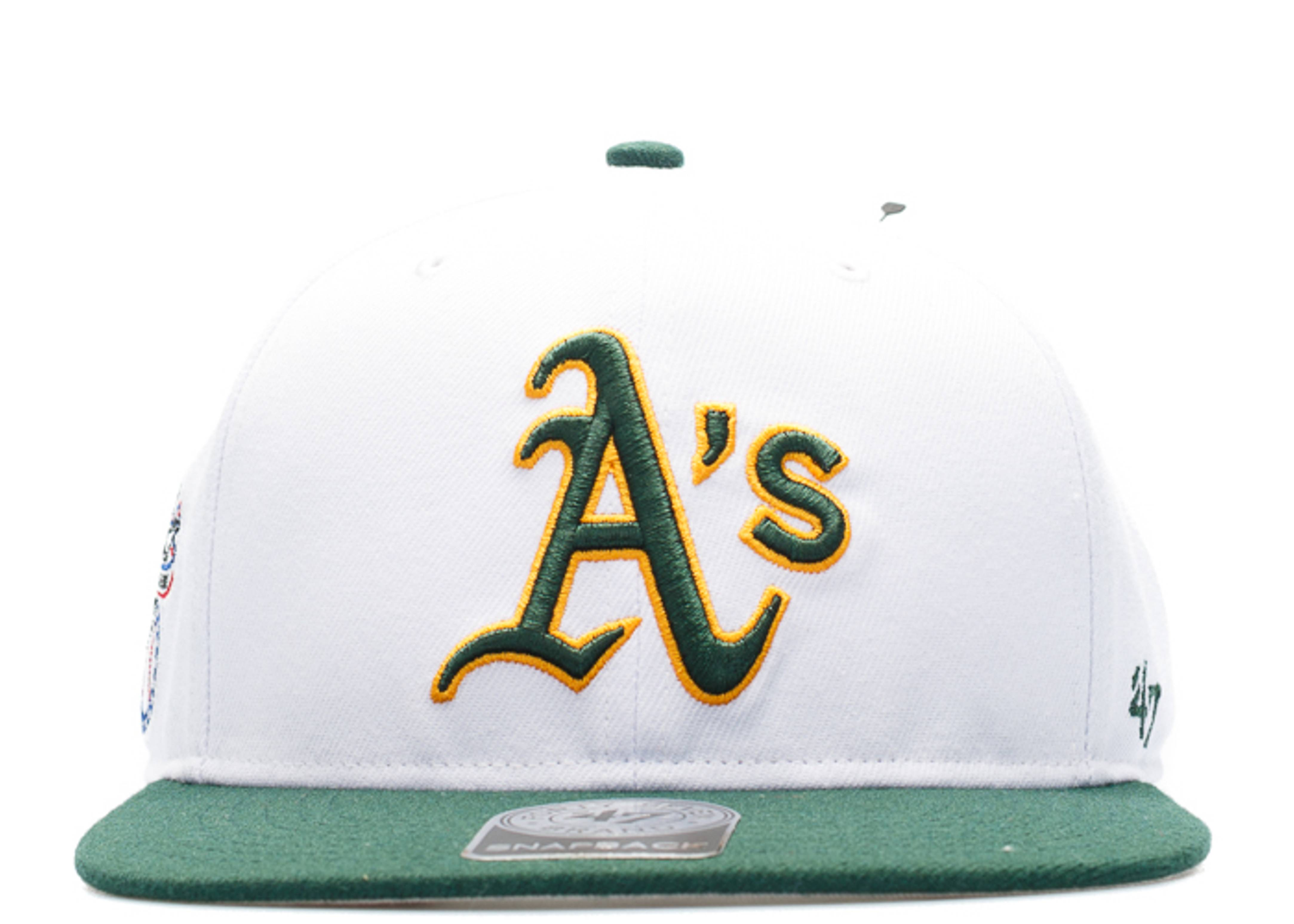 """oakland athletics snap-back """"american league side patch"""""""