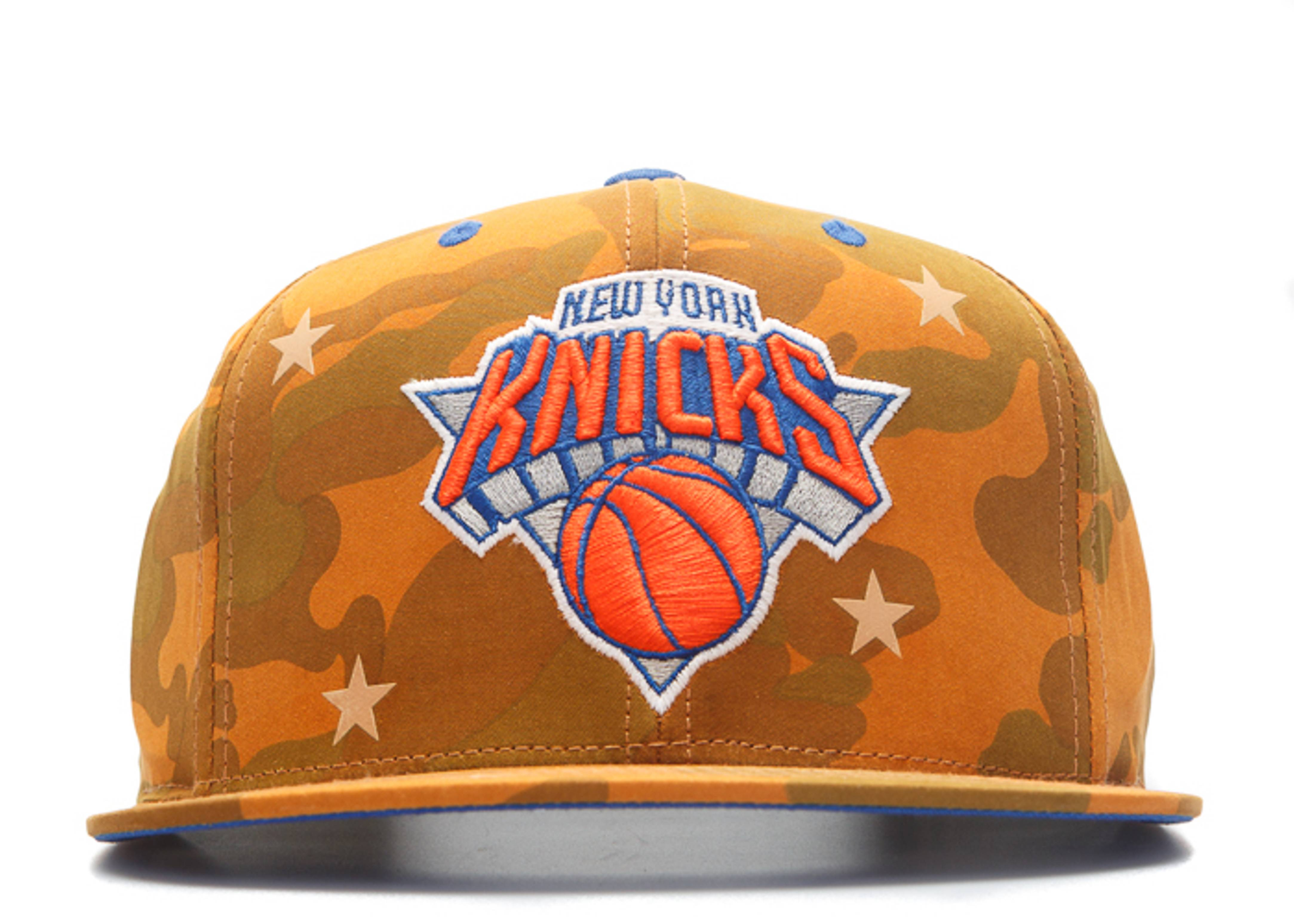 "new york knicks snap-back ""3m stars camo"""