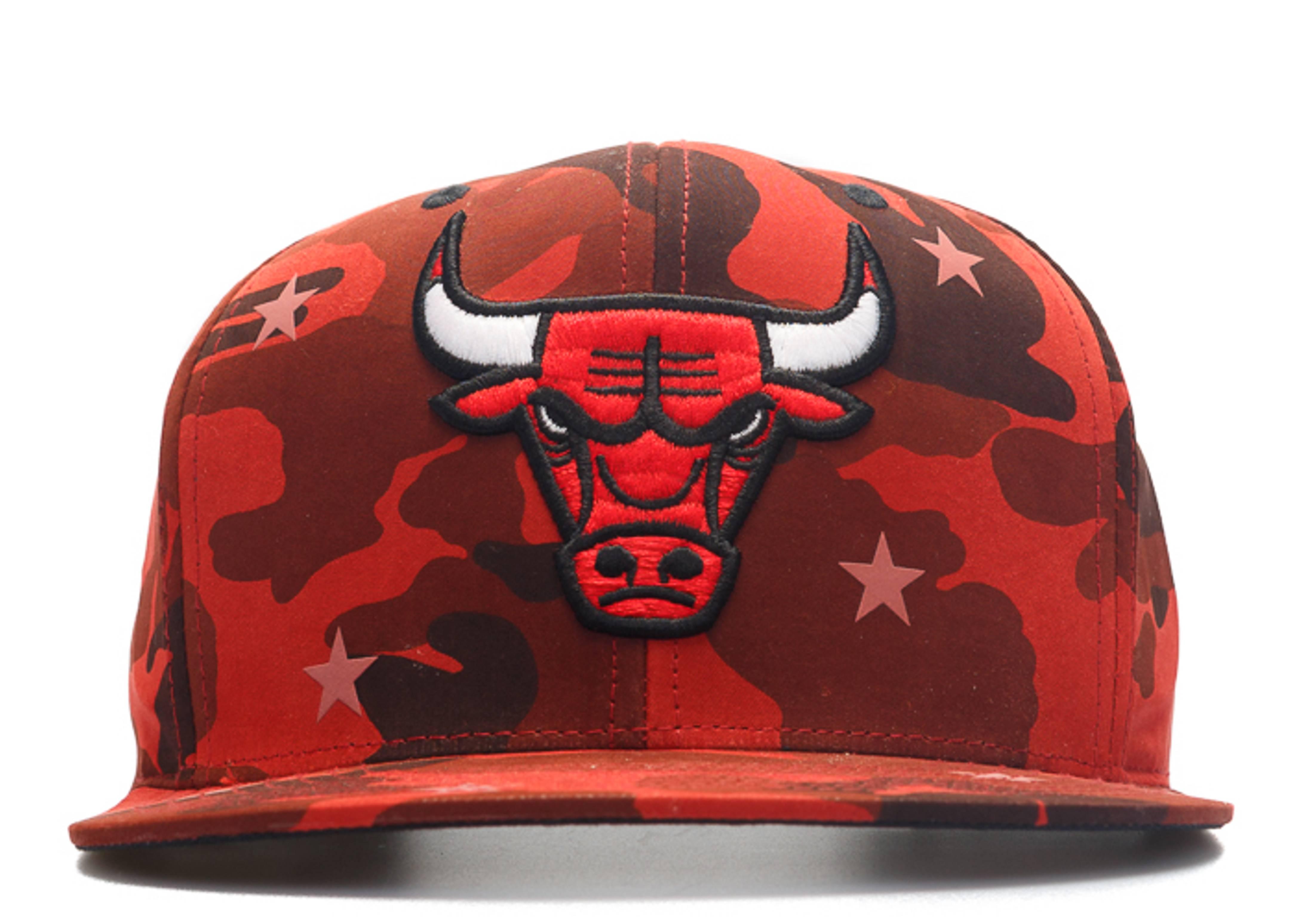 "chicago bulls snap-back ""3m stars camo"""