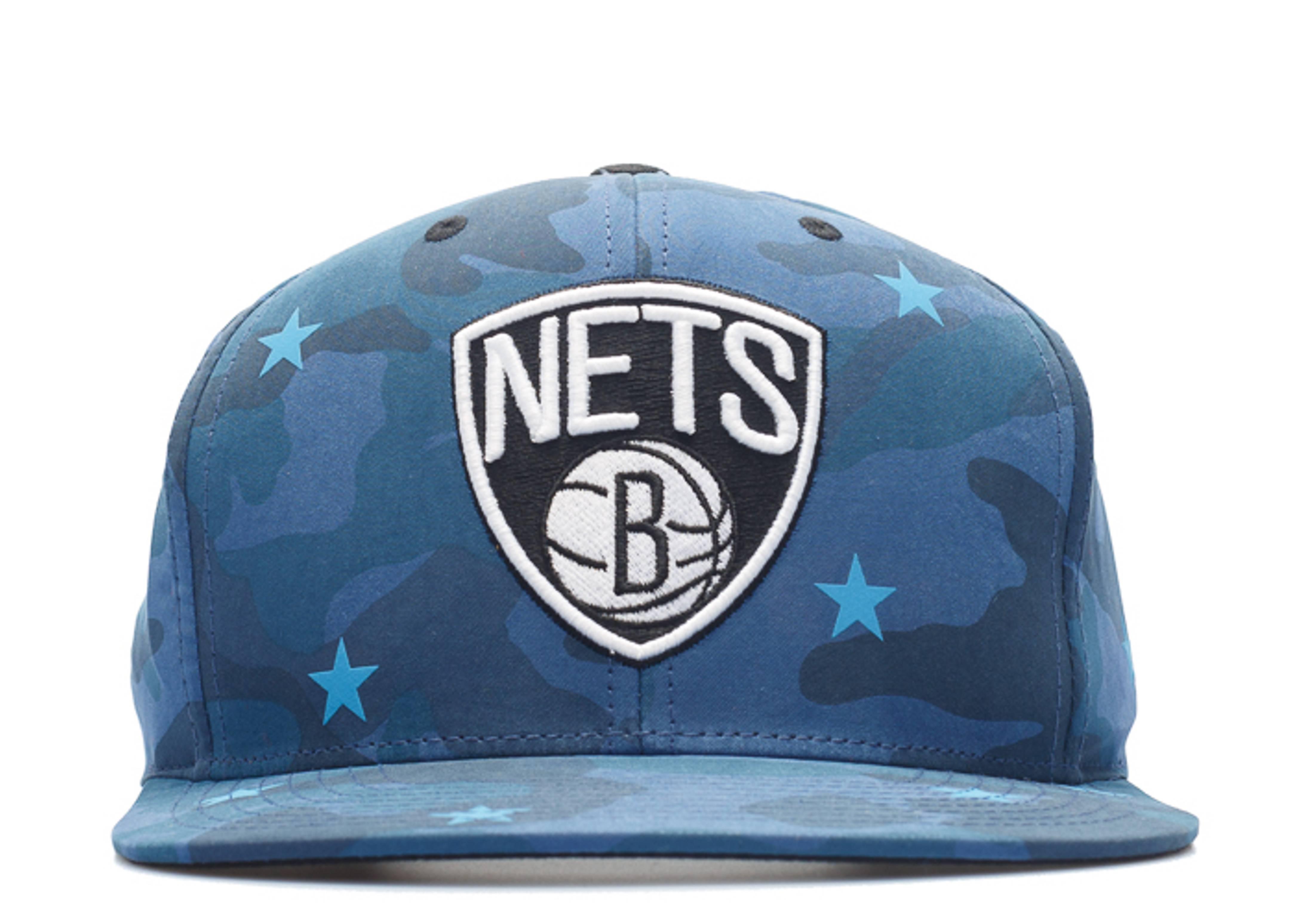 "brooklyn nets snap-back ""3m stars camo"""