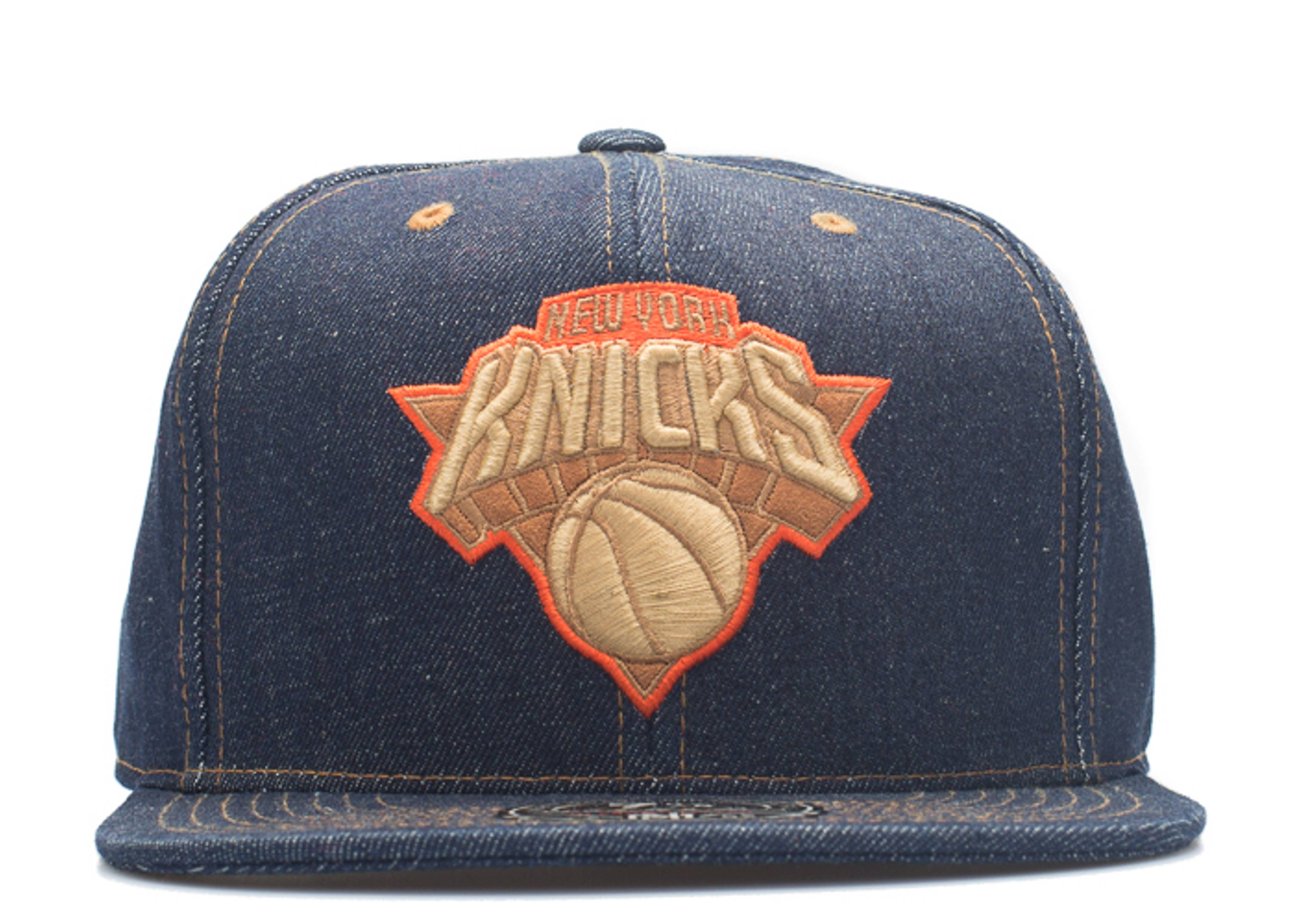 "new york knicks fitted ""selvage denim"""
