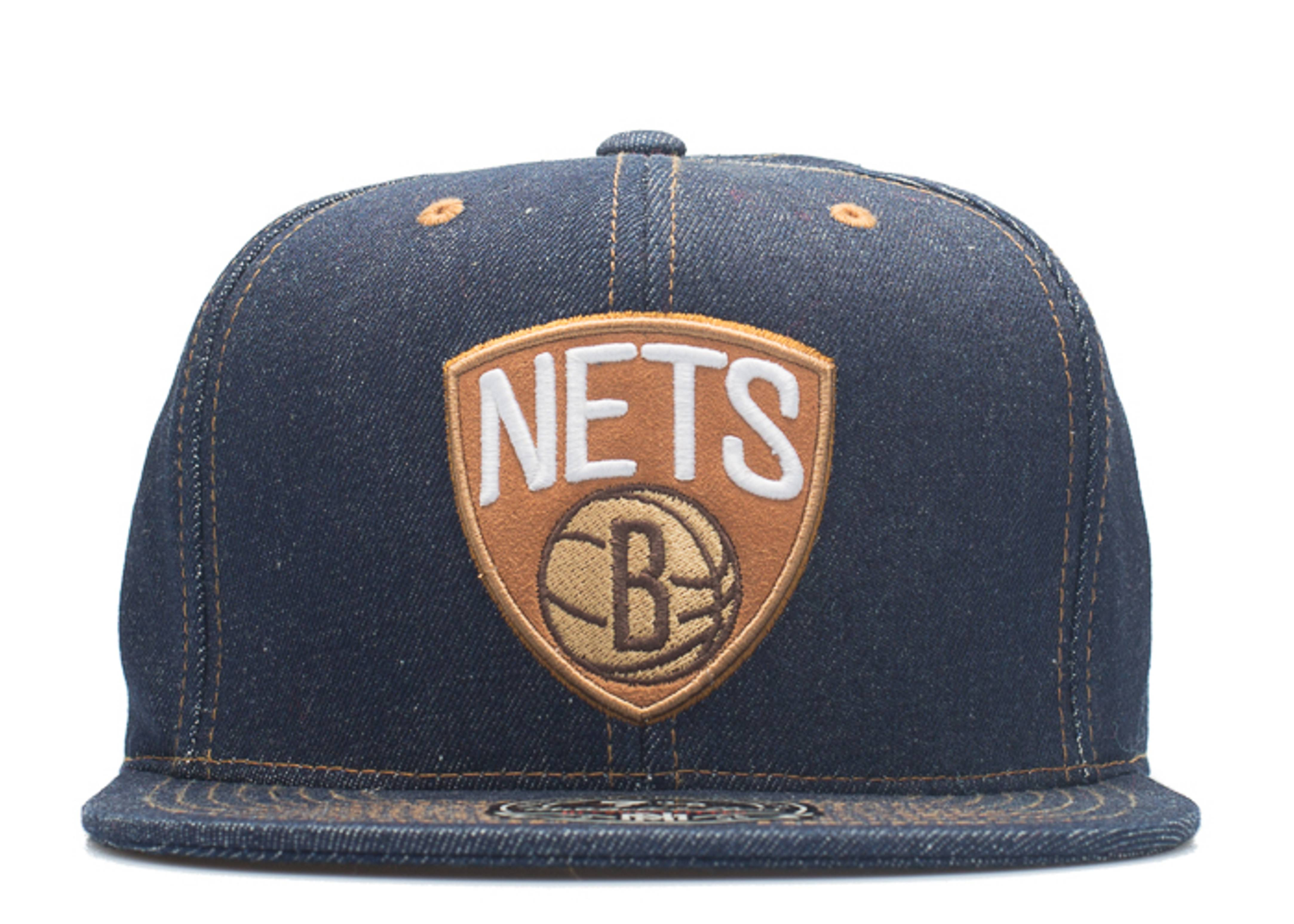 """brooklyn nets fitted """"selvage denim"""""""