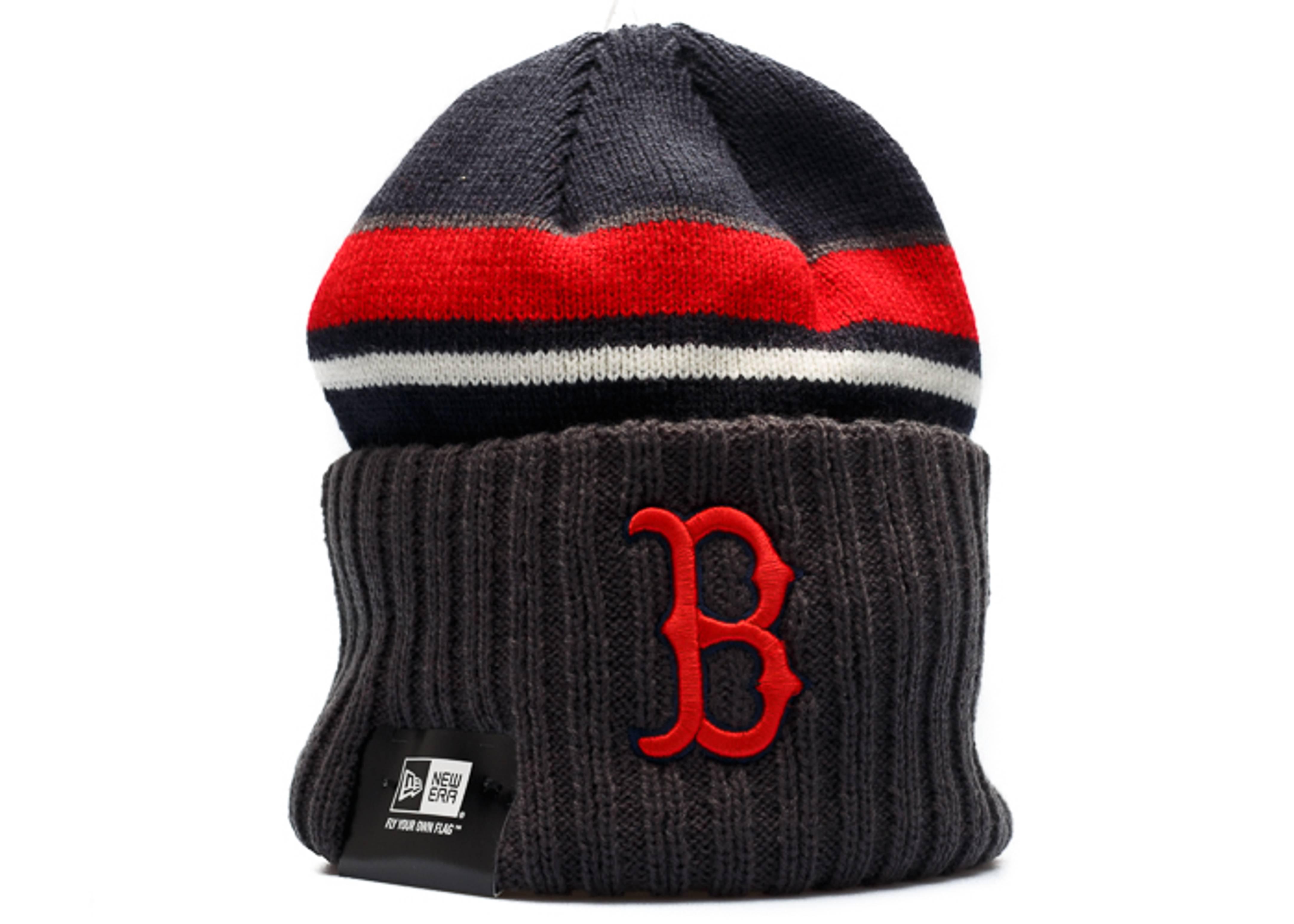 boston red sox knit cuffed beanie