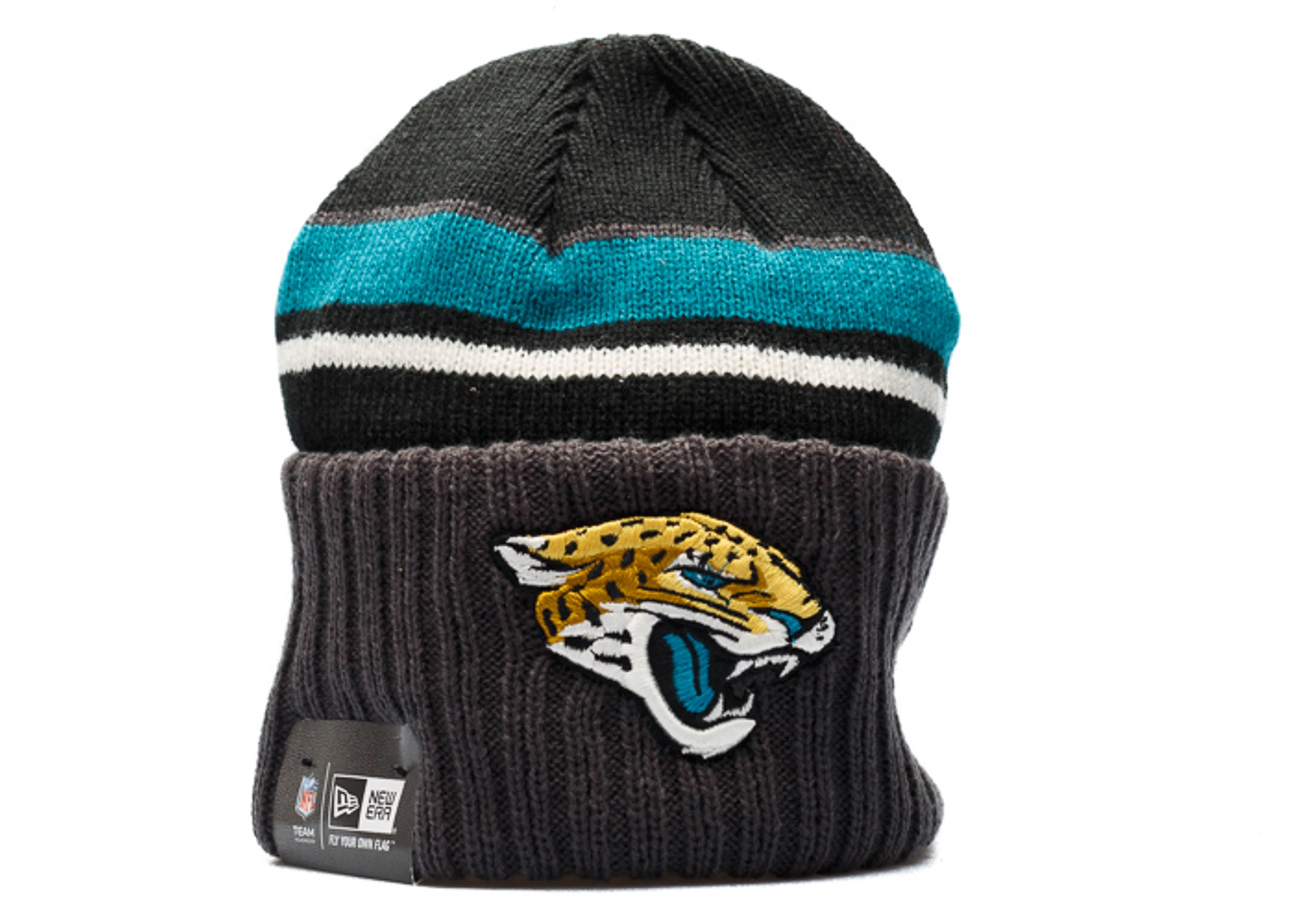 jacksonville jaguars knit cuffed beanie