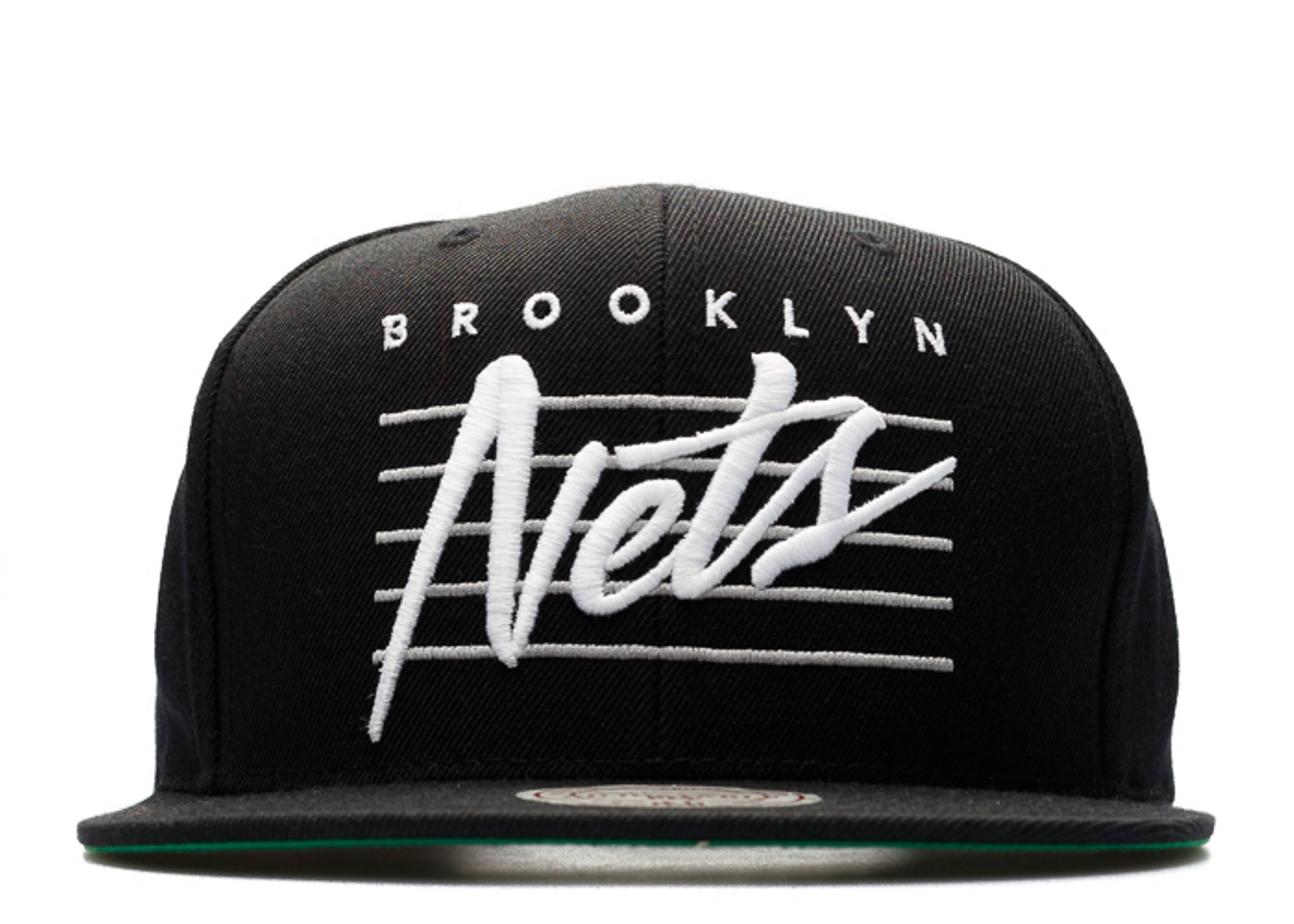 "brooklyn nets snap-back ""retro script"""
