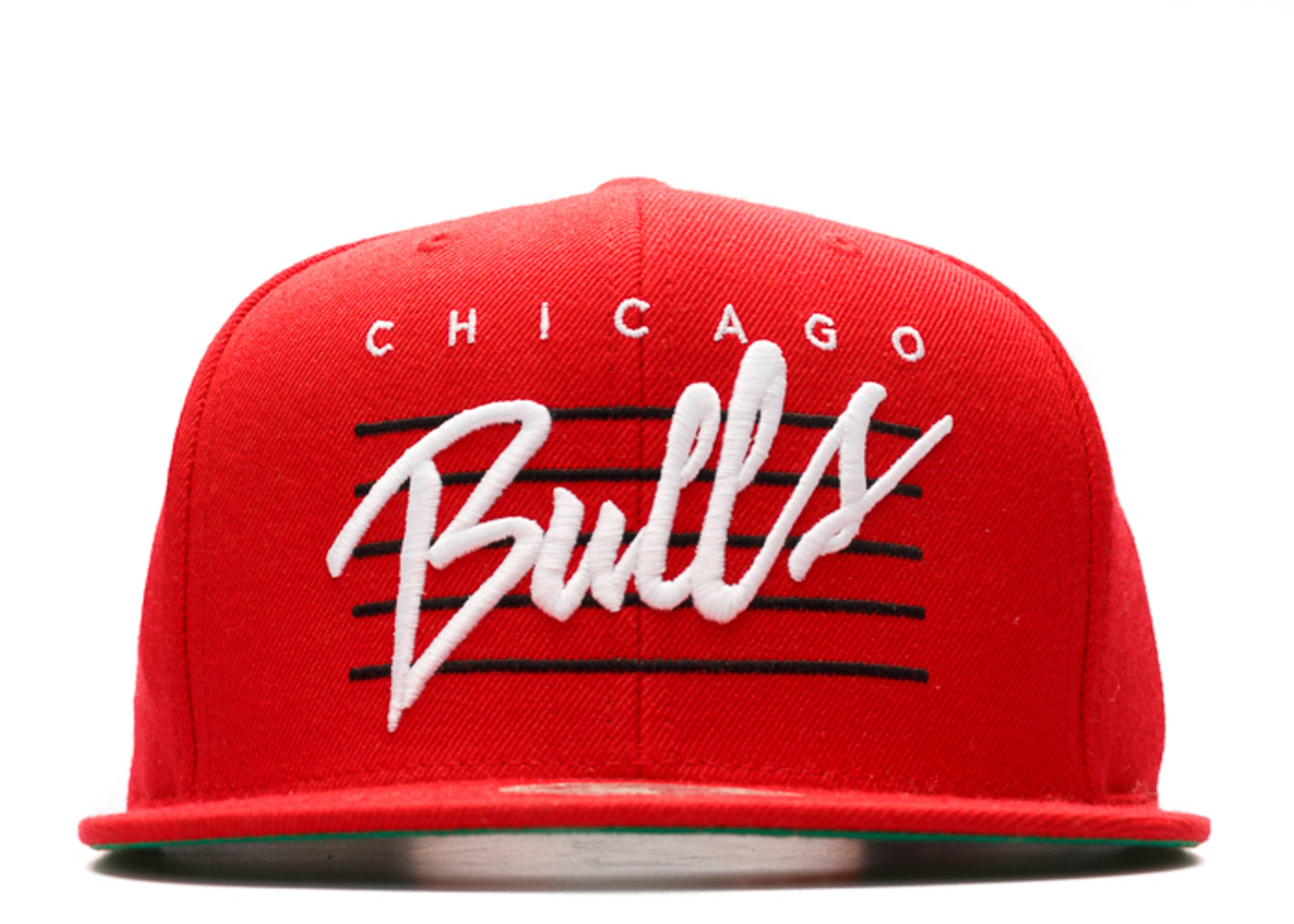 "chicago bulls snap-back ""retro script"""