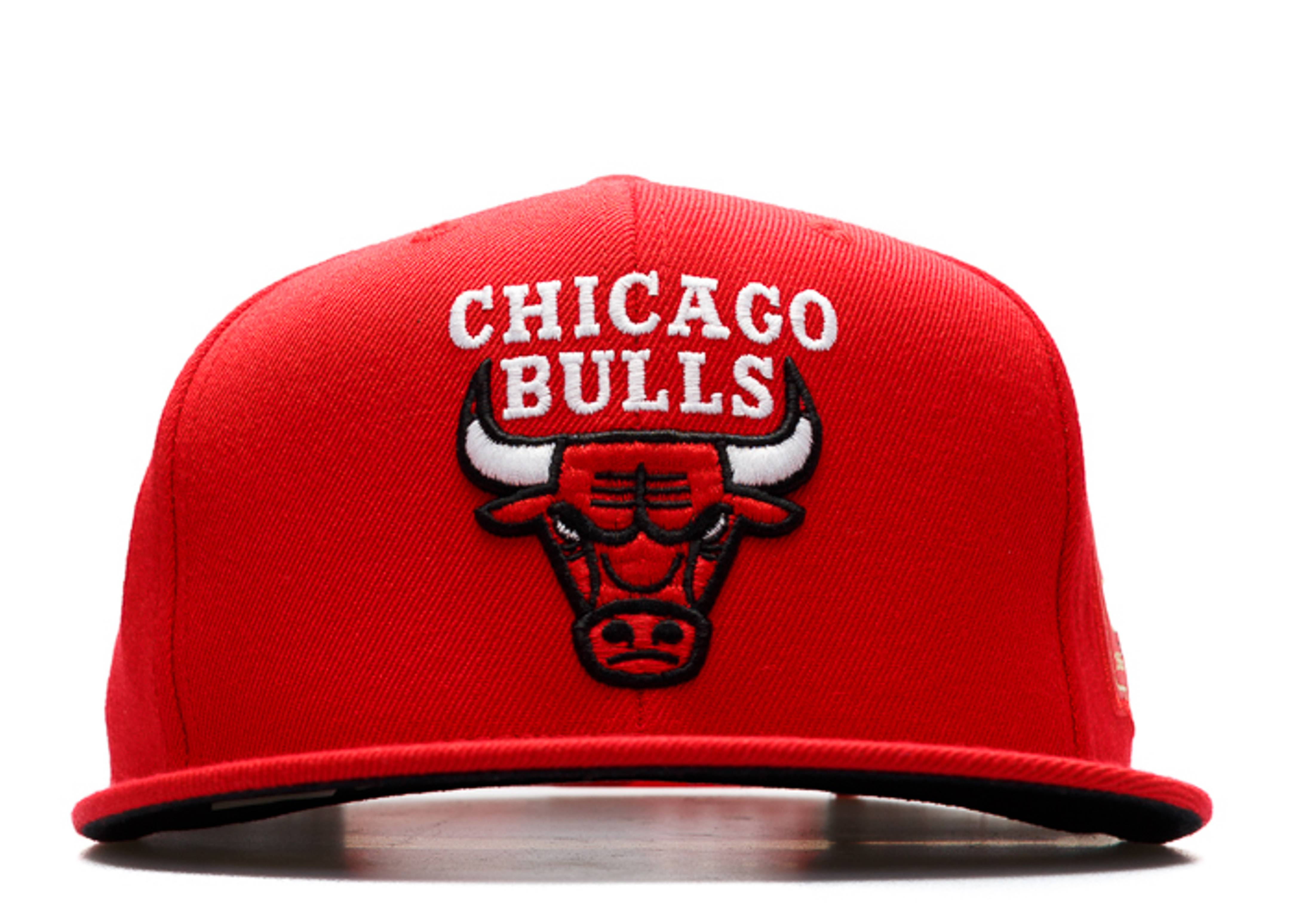 "chicago bulls snap-back ""50th anniversary"""