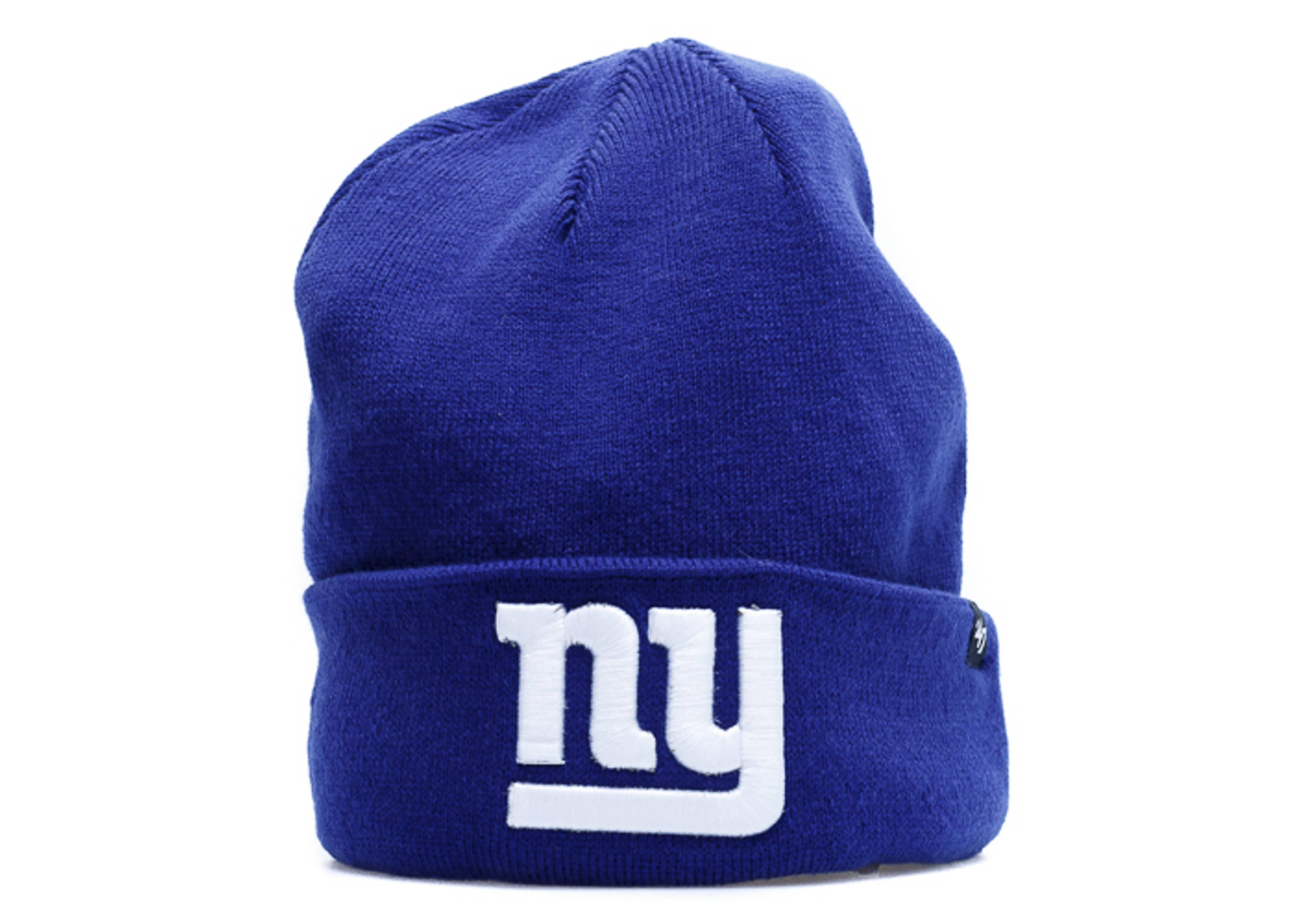 new york giants cuffed knit beanie
