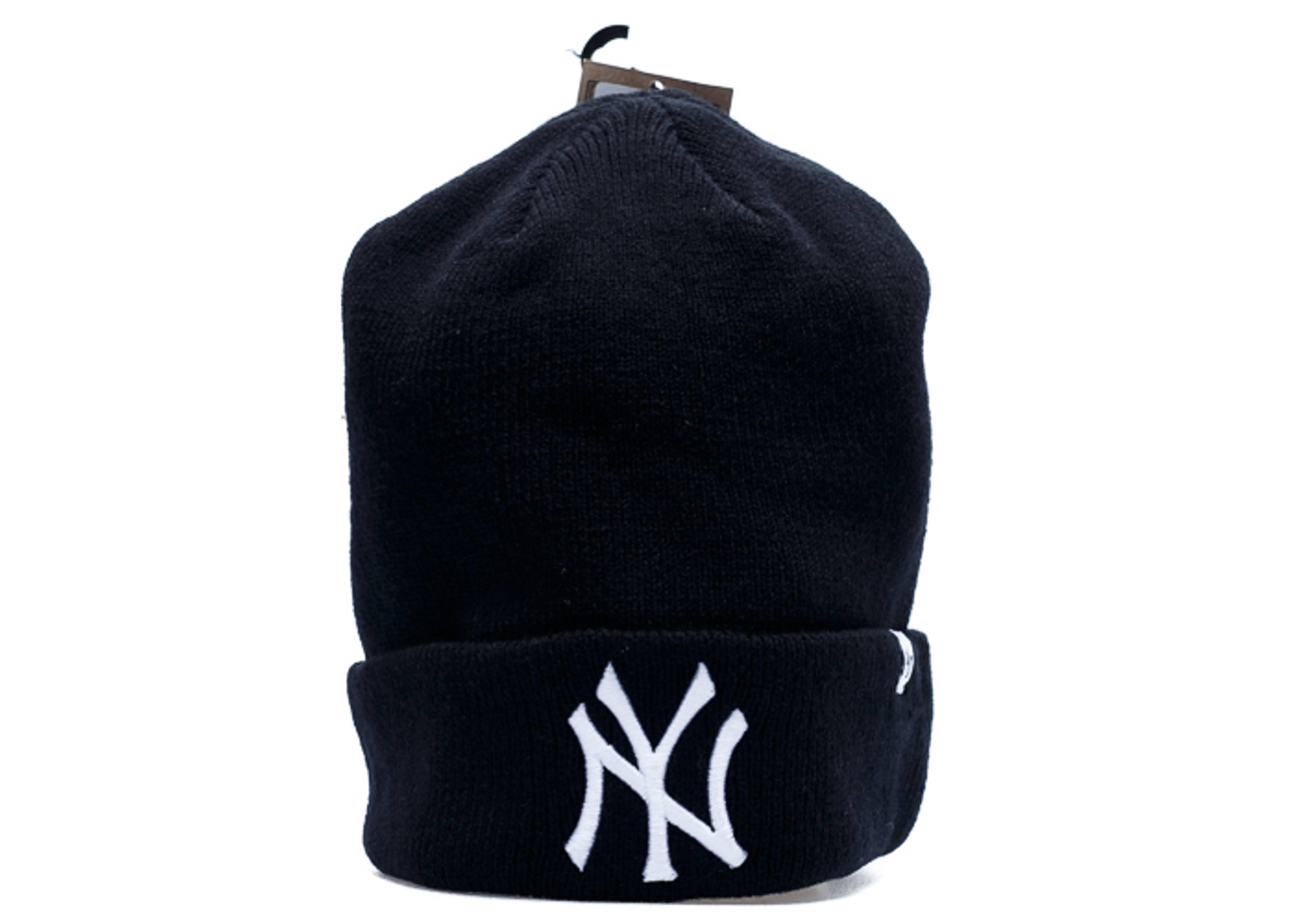 new york yankees cuffed knit beanie
