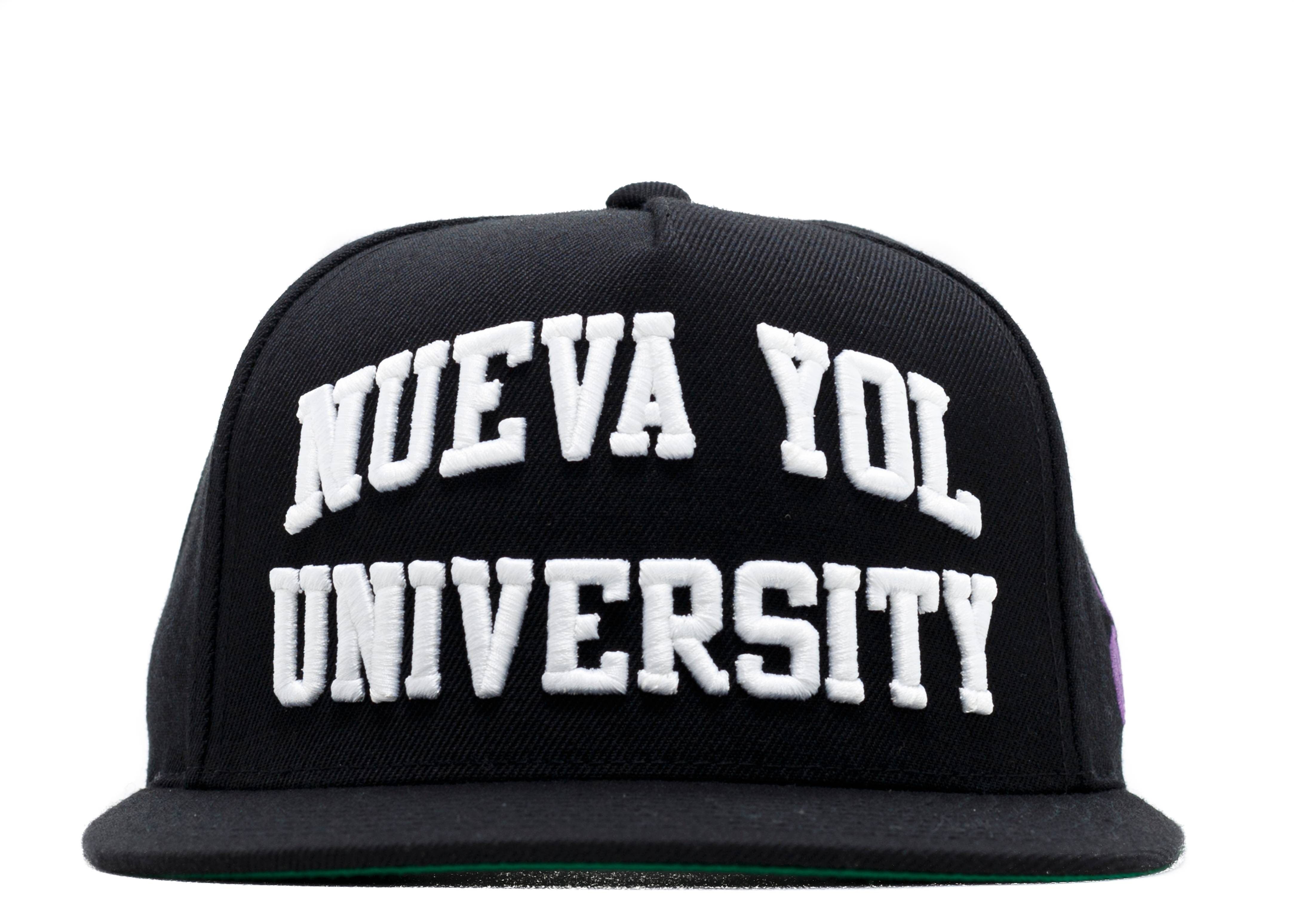 nueva yol university snap-back