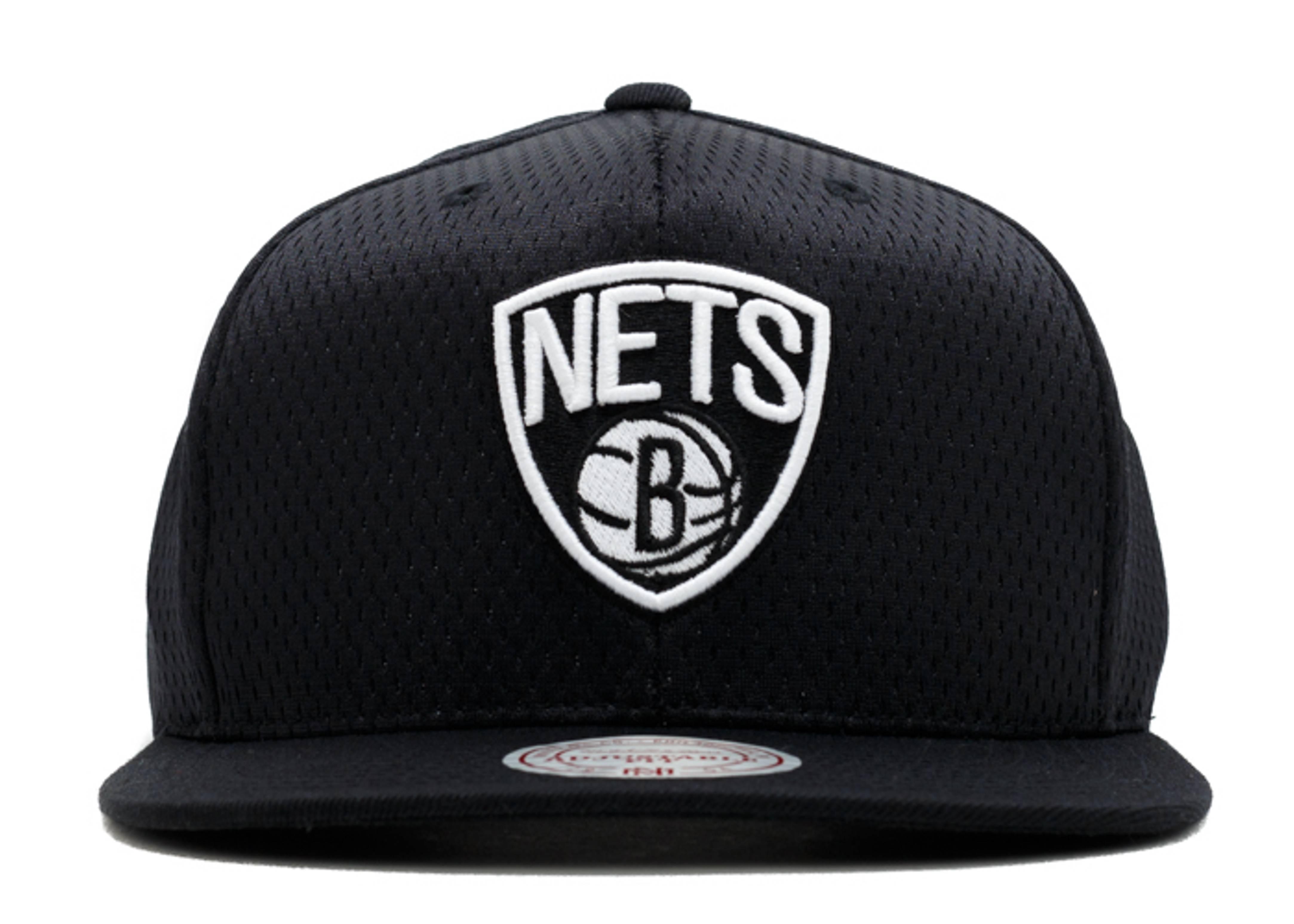 "brooklyn nets snap-back ""jersey mesh"""