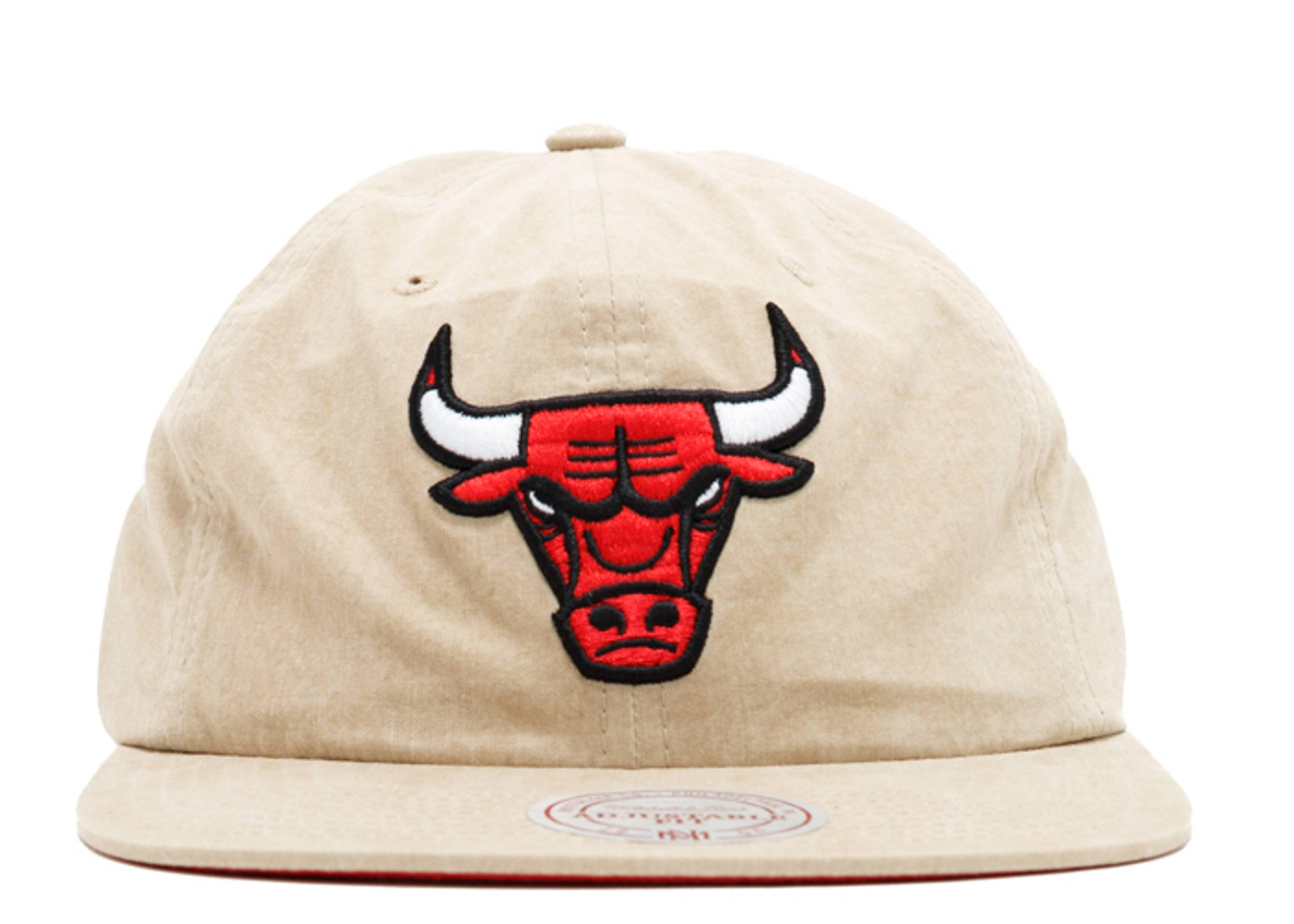 "chicago bulls strap-back ""low profile self fabric"""