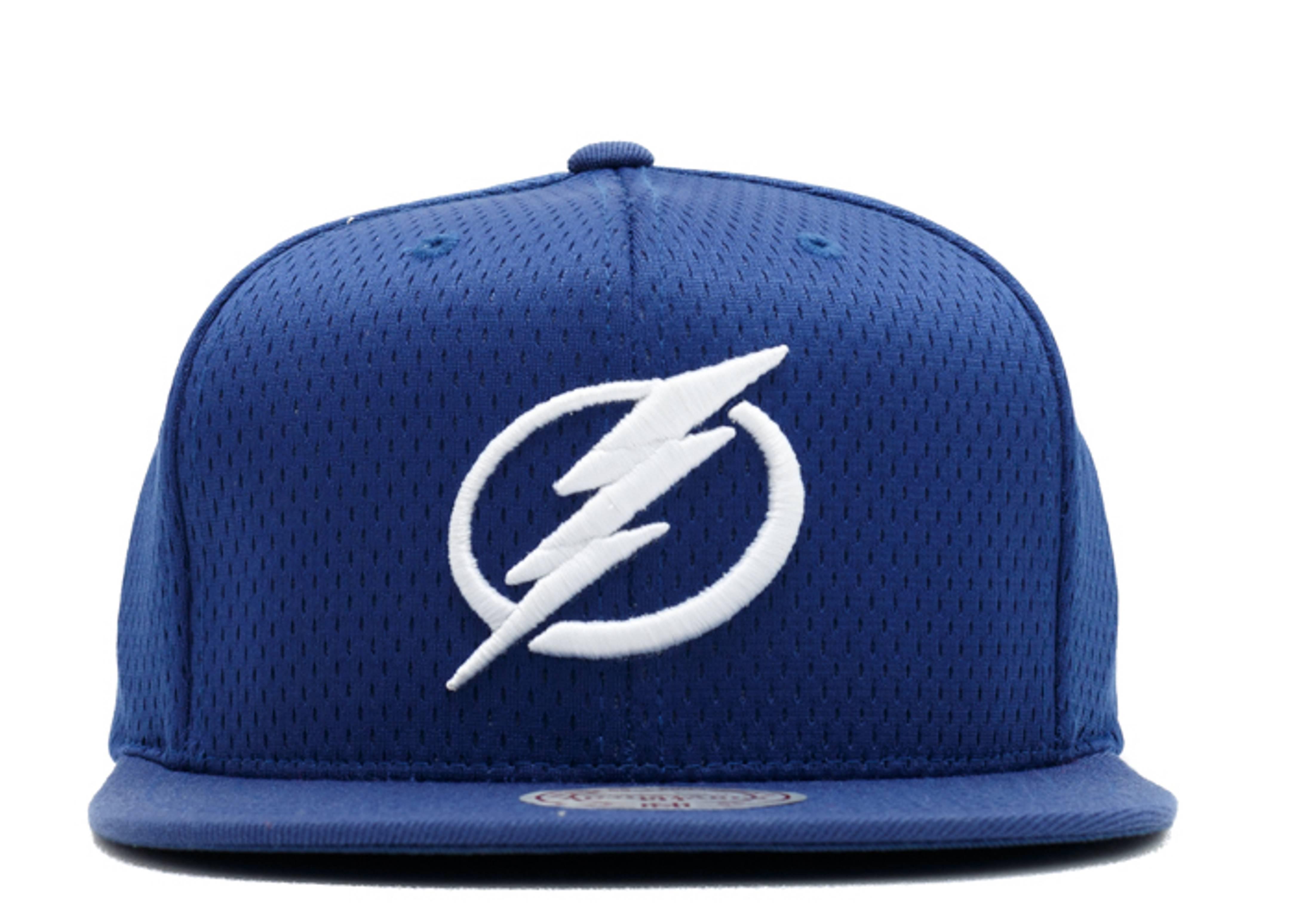 """tampa bay lightning snap-back """"jersey mesh"""""""