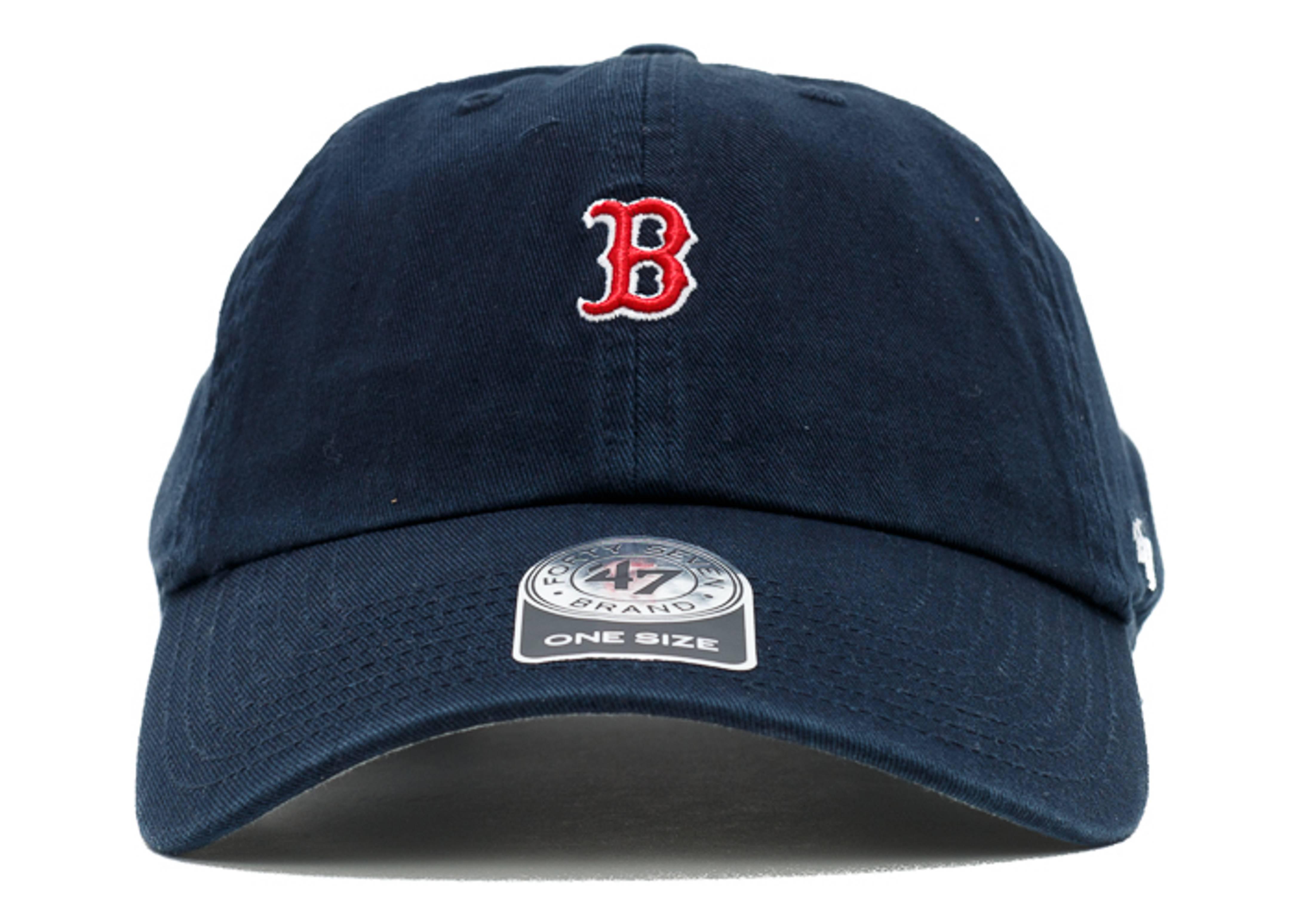 "boston red sox strap-back ""mini logo"""