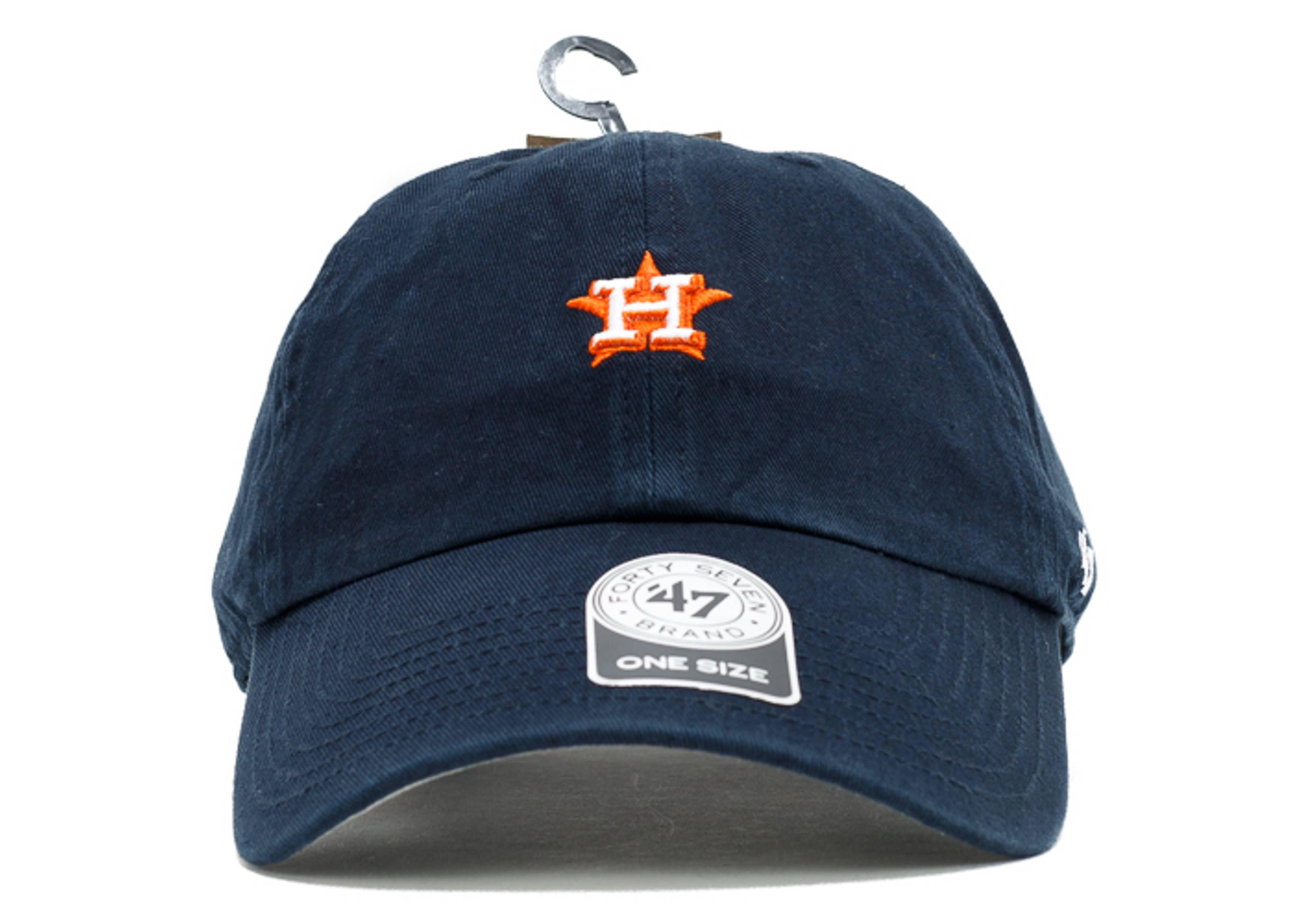 """houston astros strap-back """"mini logo"""""""
