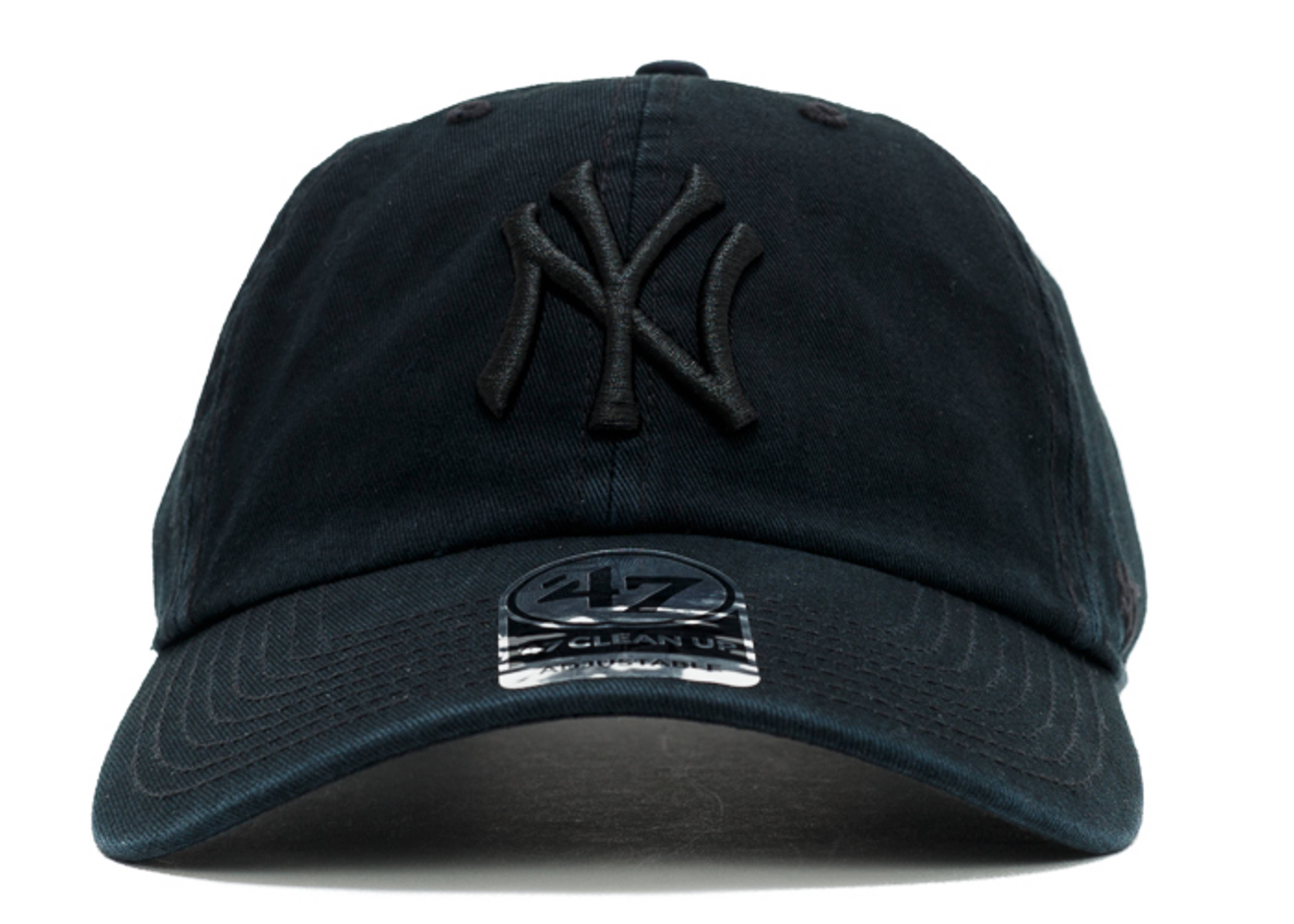 """new york yankees strap-back """"black out"""""""