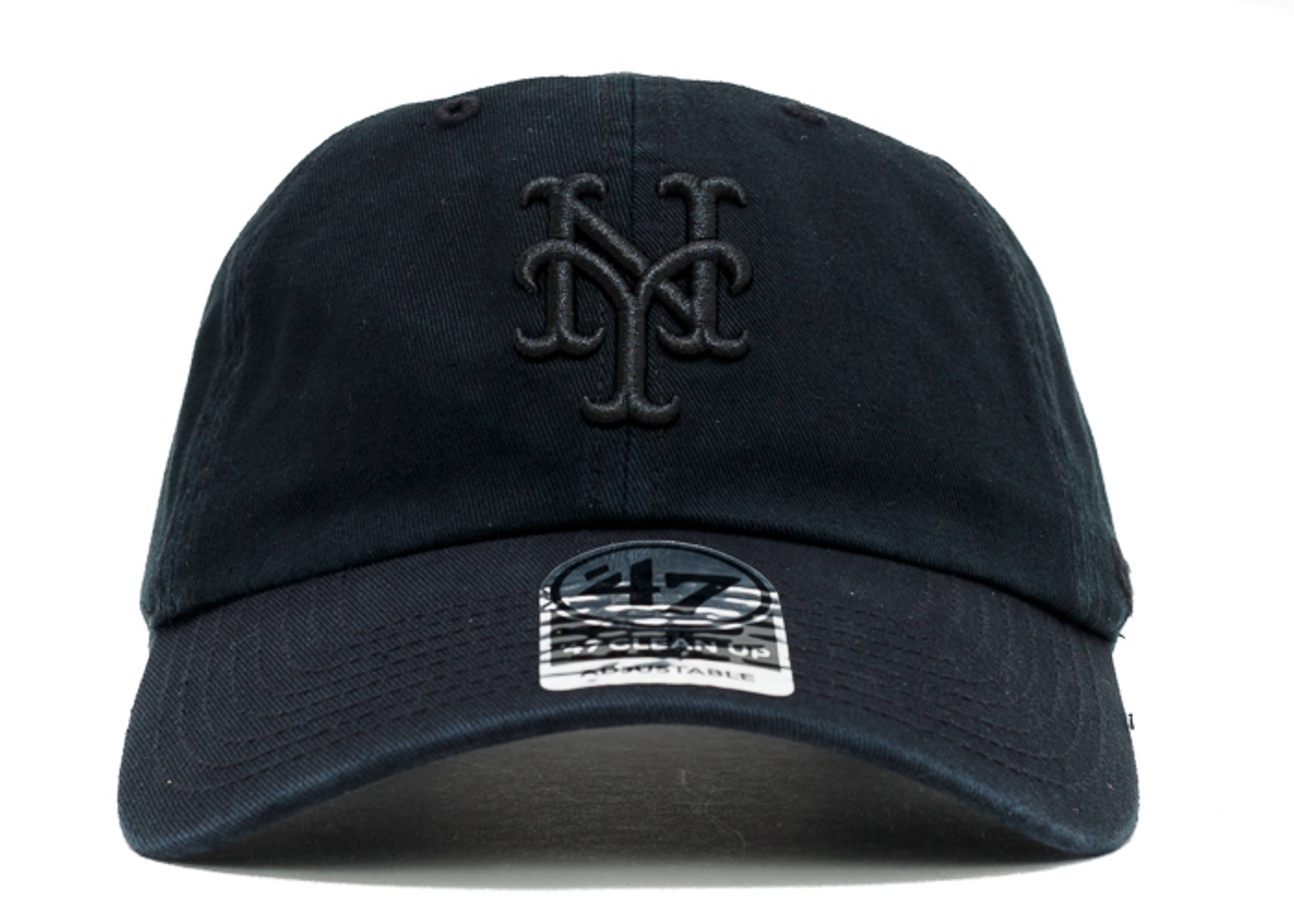 """new york mets strap-back """"black out"""""""