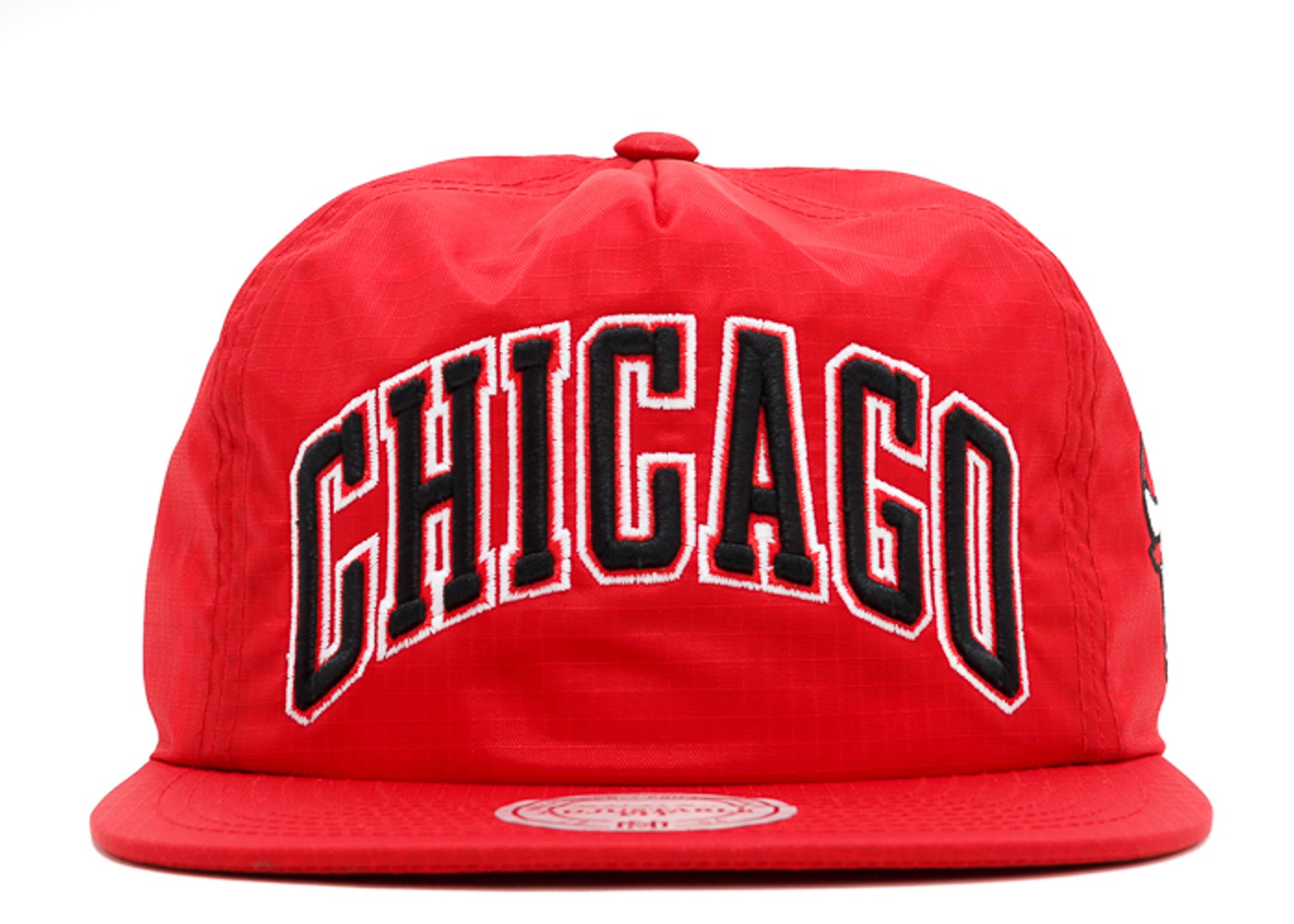 chicago bulls team stripe zip-back