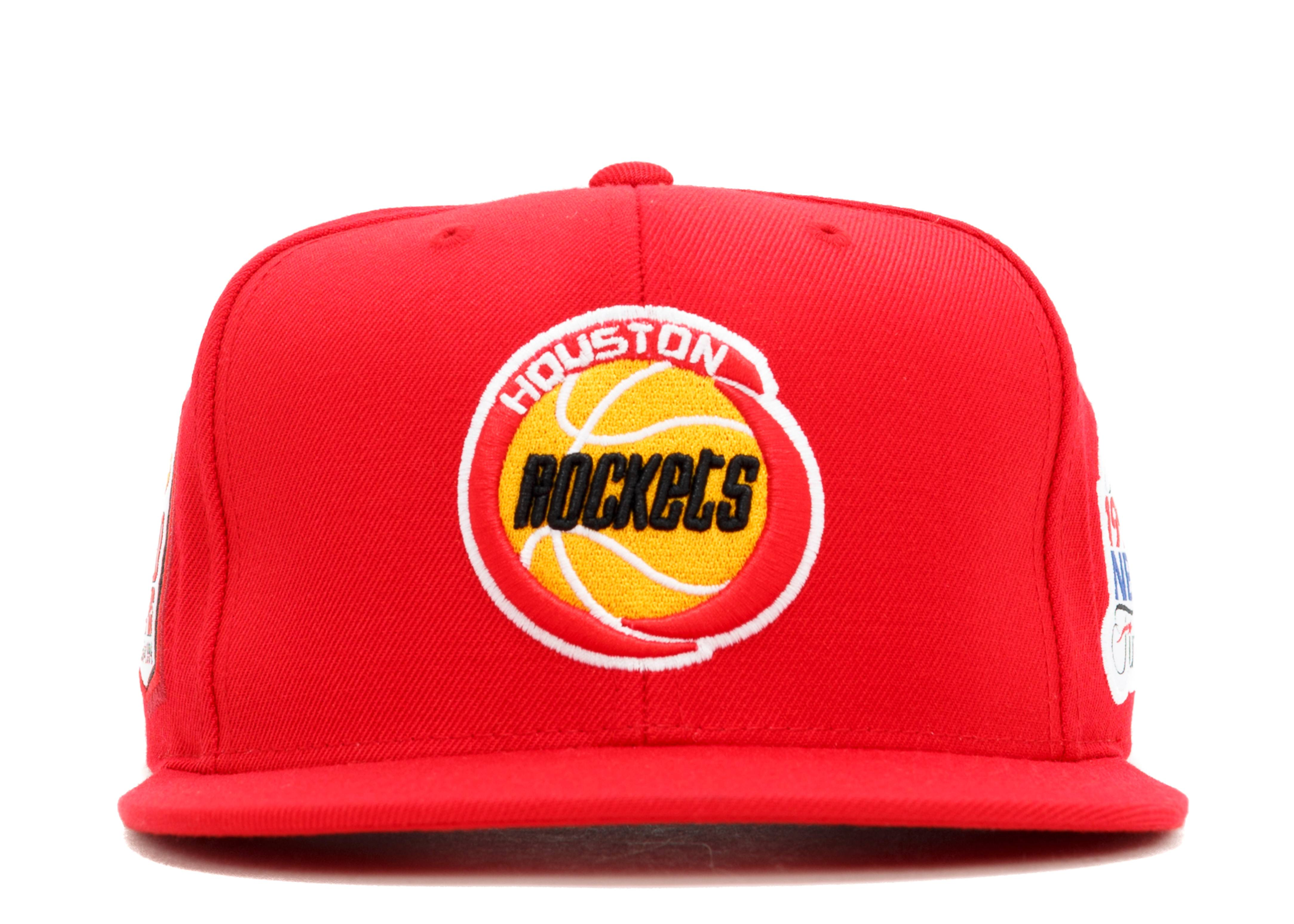 sports shoes 90cf5 527c4 mitchell   ness. houston rockets snap-back