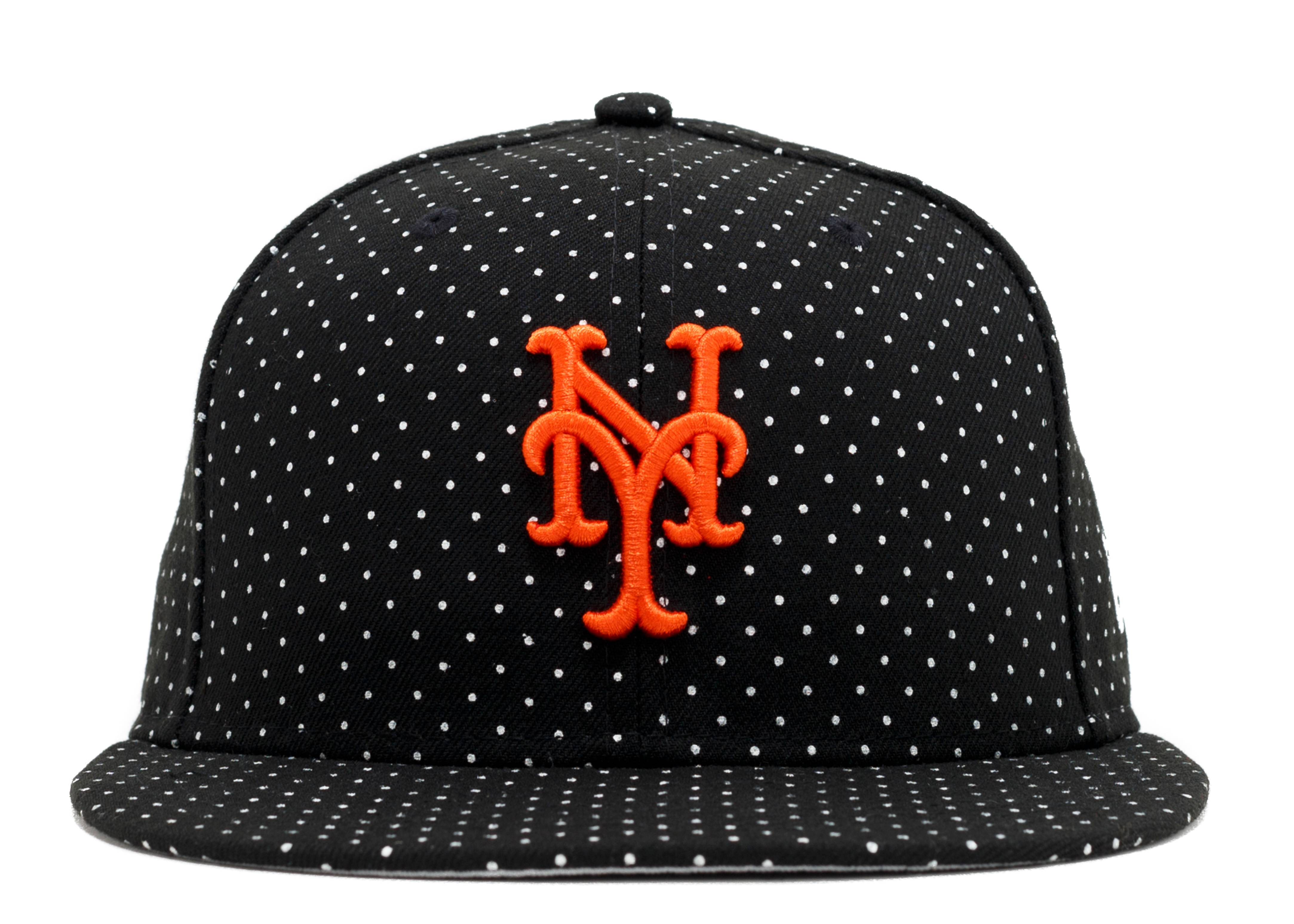 """new york mets fitted """"polka dots"""""""
