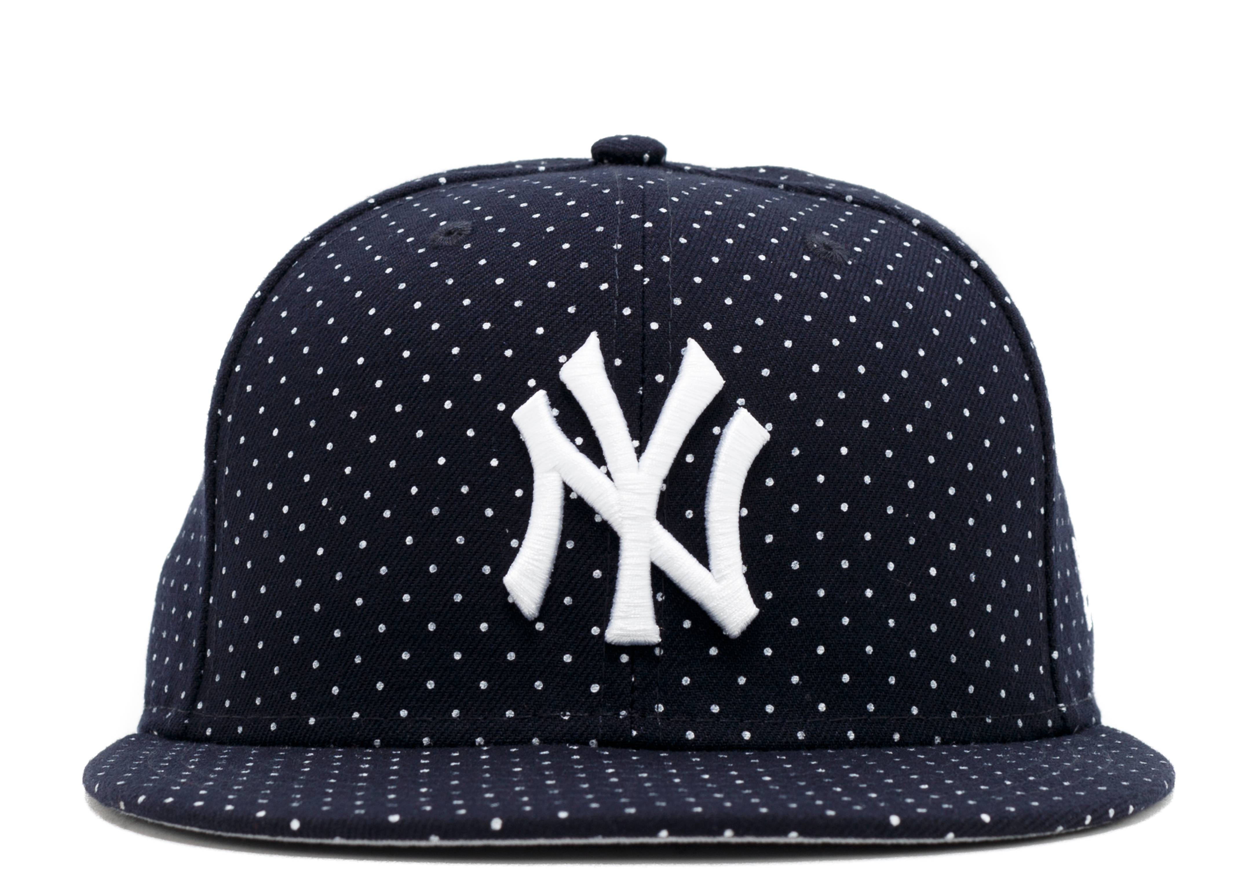 """new york yankees fitted """"polka dots"""""""