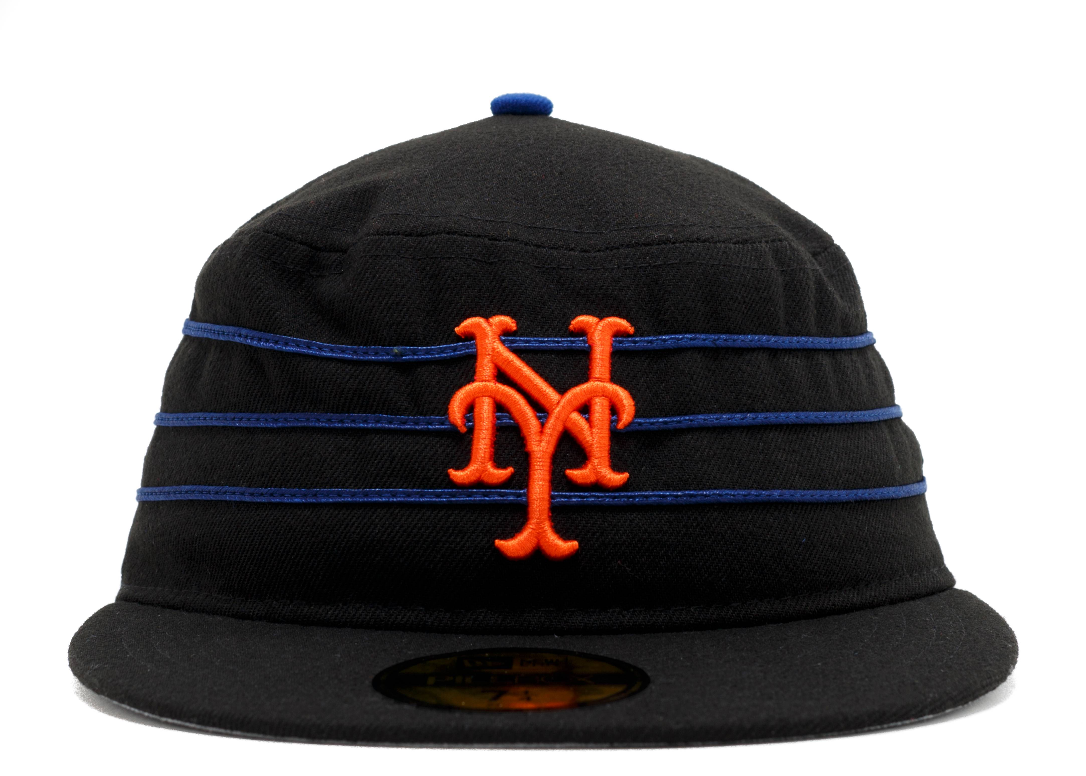 new york mets pill box fitted