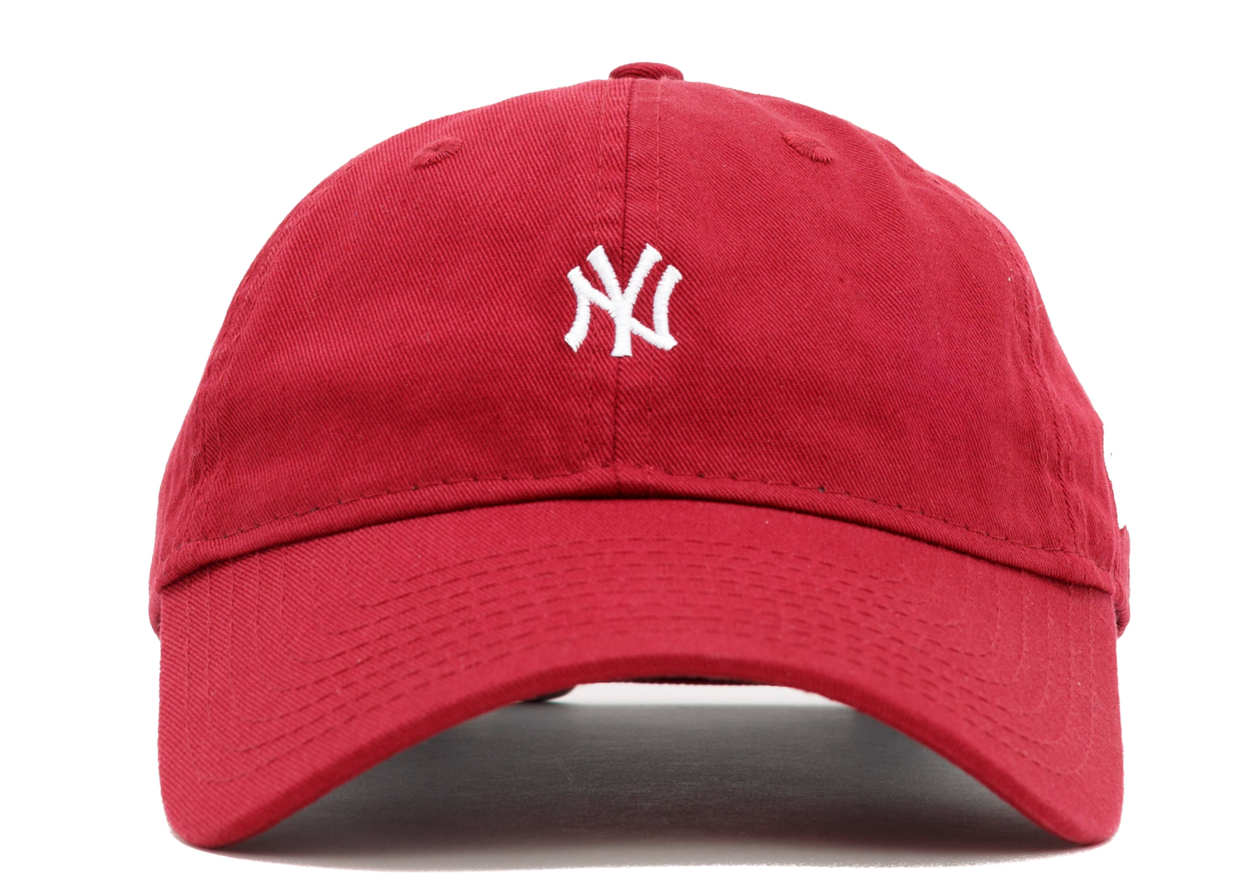 "new york yankees strap-back ""mini logo"""