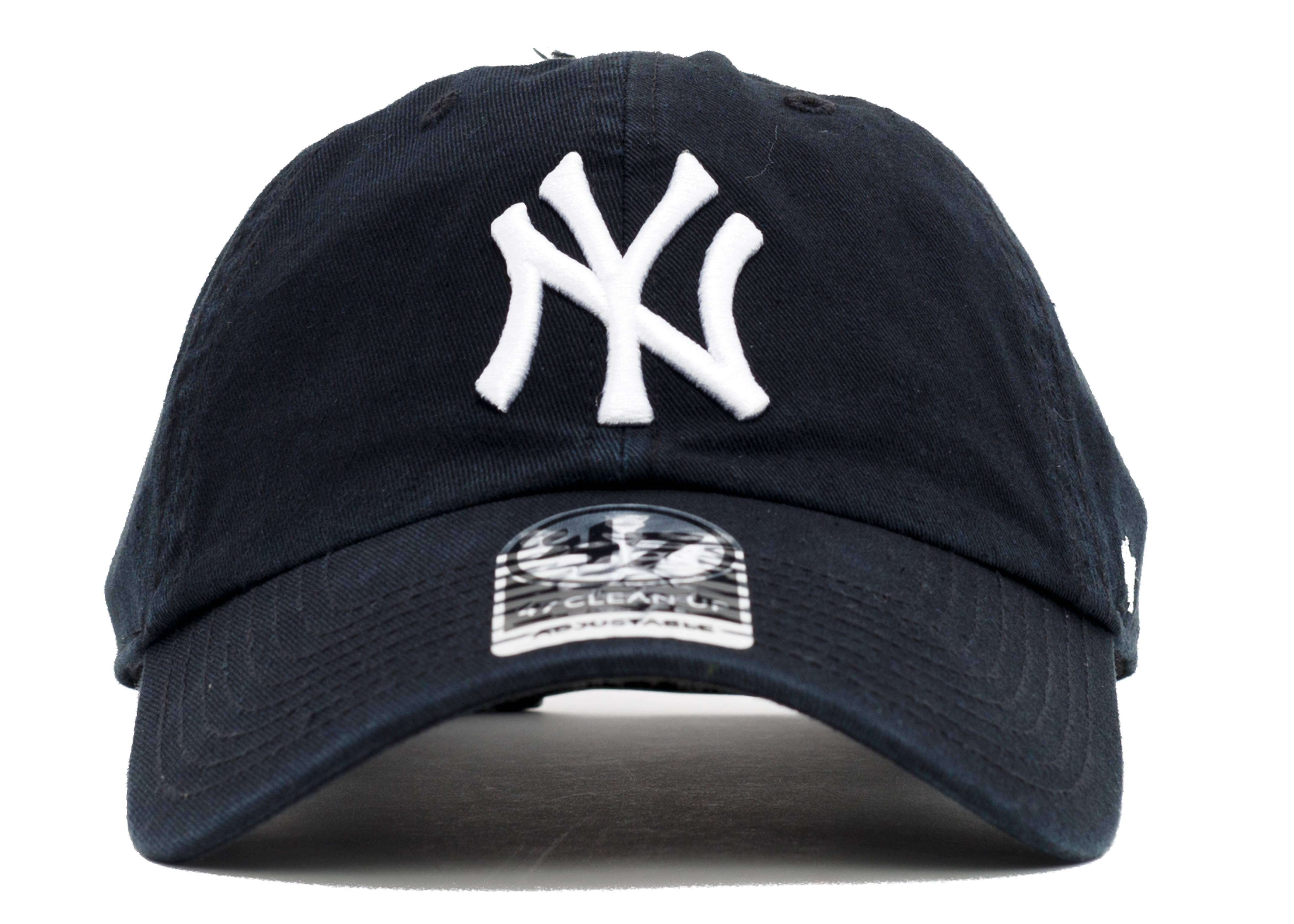 "new york yankees strap-back ""leather strap"""