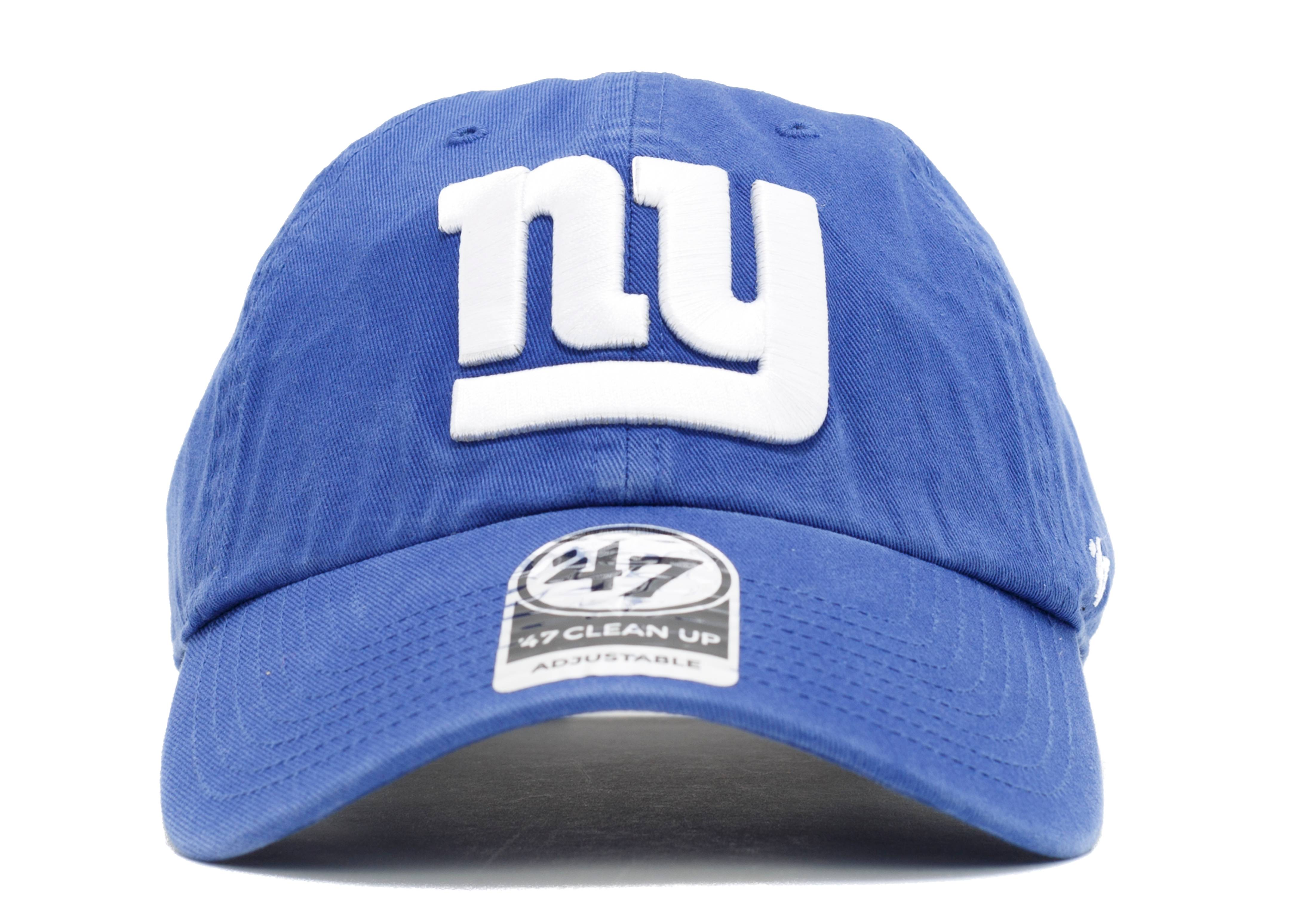 "new york giants strap-back ""leather strap"""