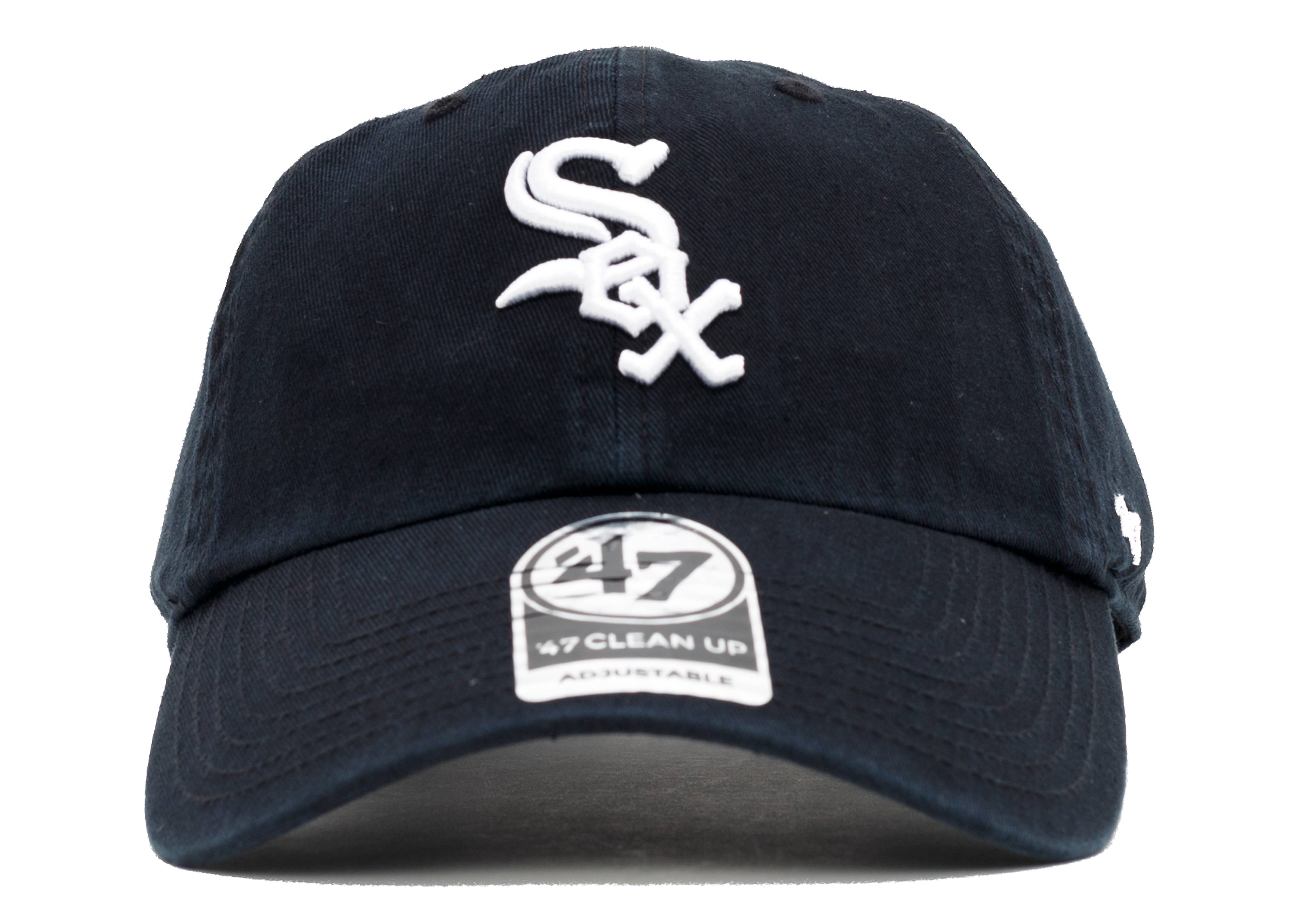 "chicago white-sox strap-back ""leather strap"""