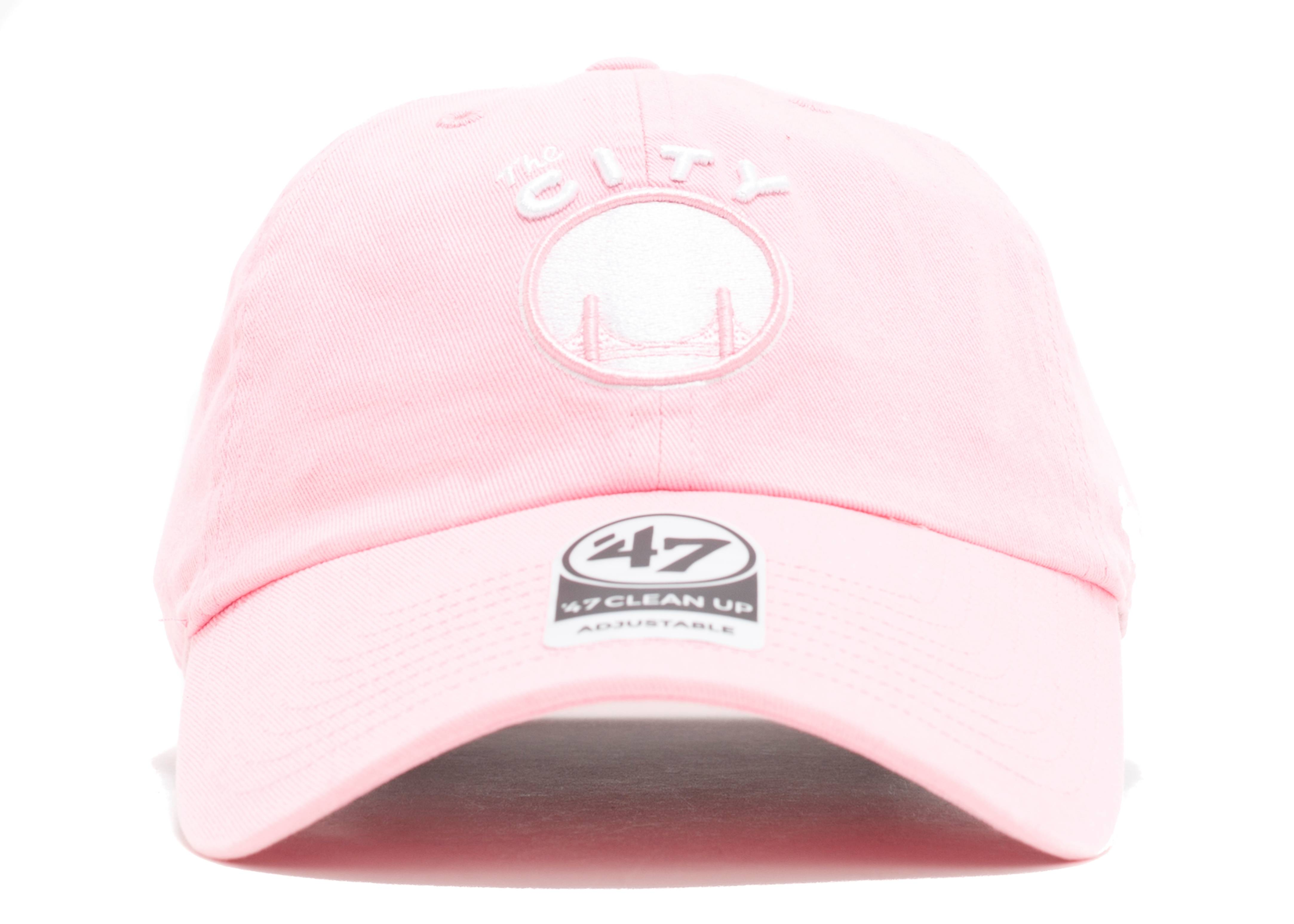 "golden state warriors strap-back ""pink"""