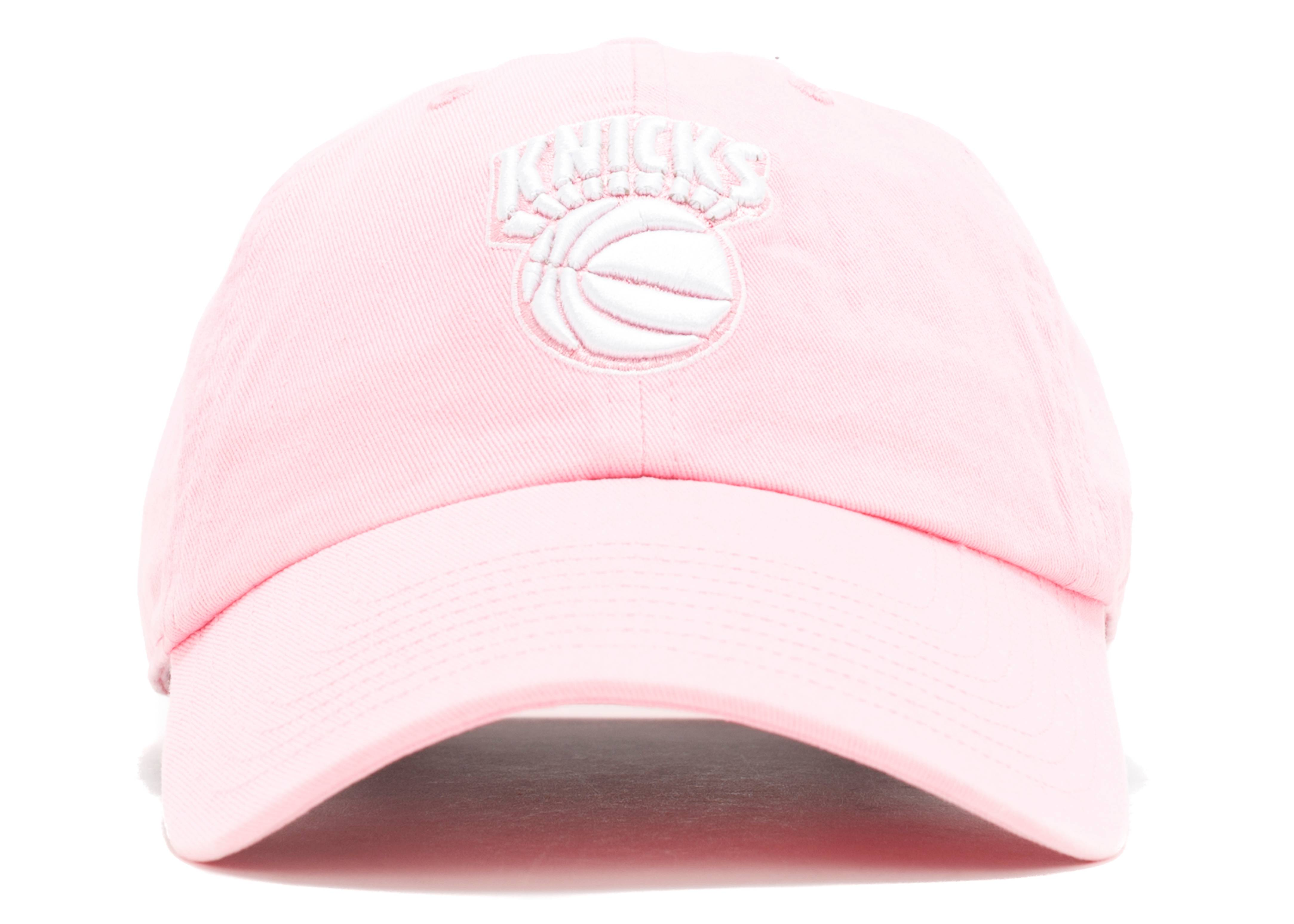 "new york knicks strap-back ""pink"""