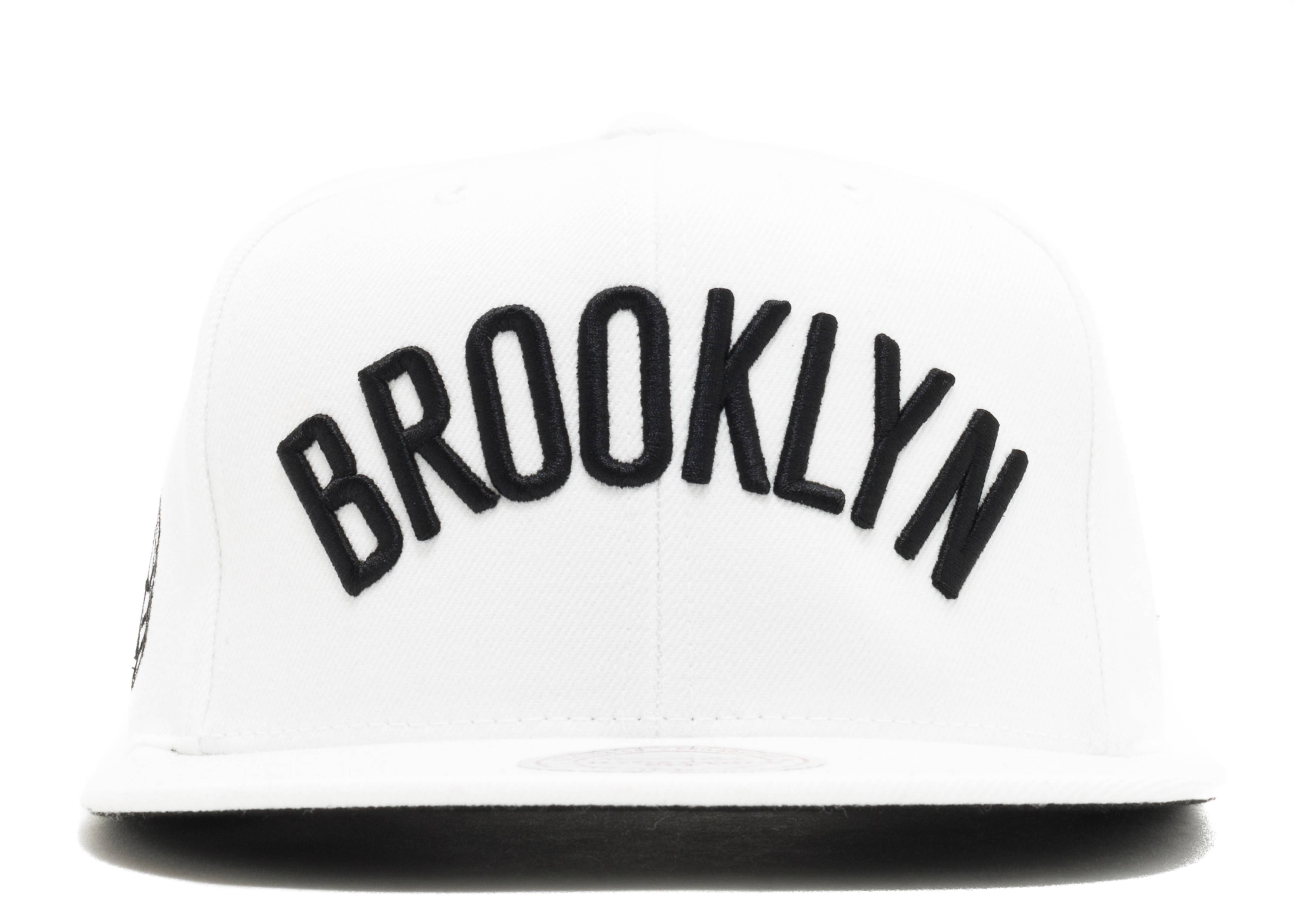 "brooklyn nets snap-back ""history"""