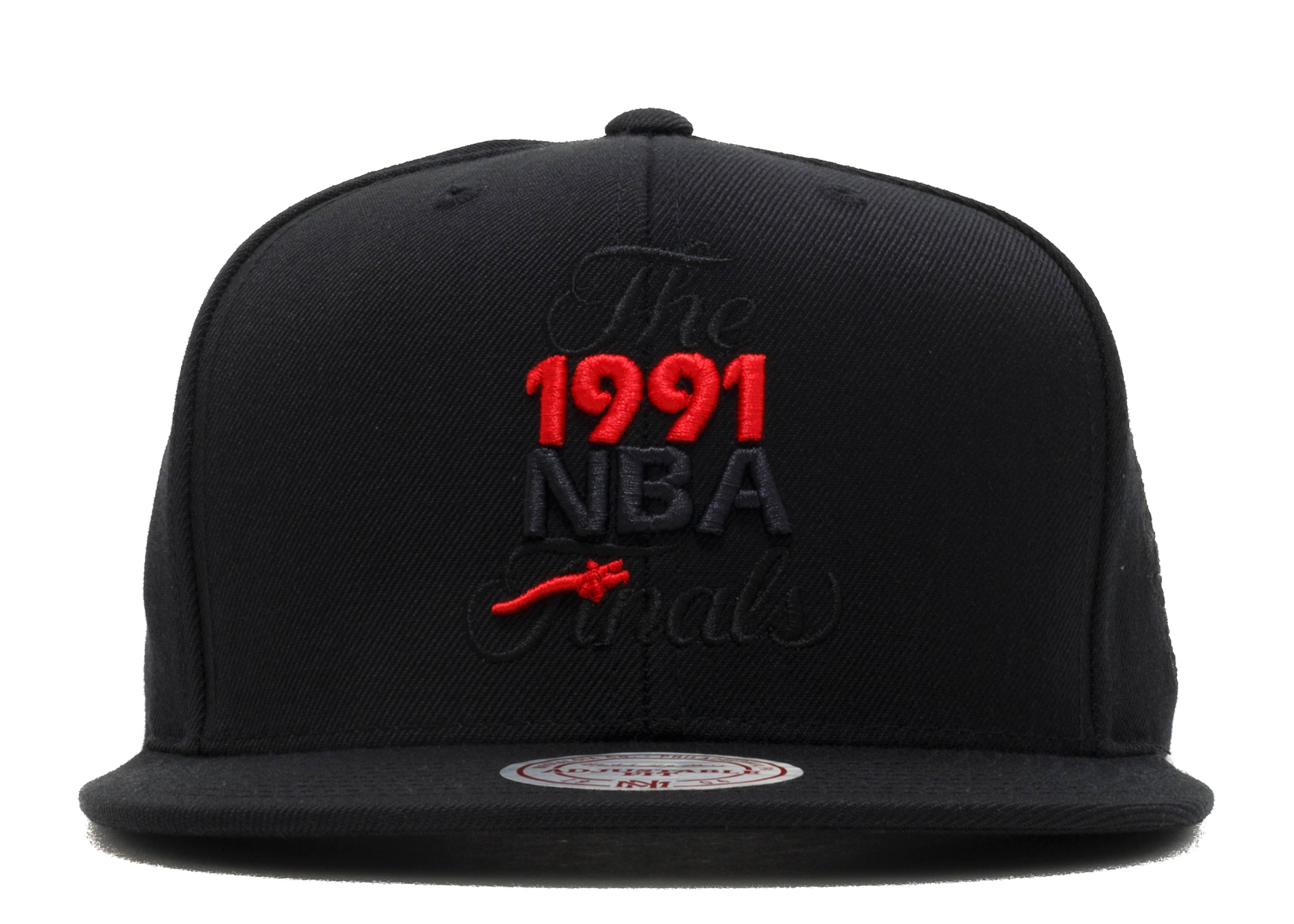 "chicago bulls snap-back ""1991 nba finals"""