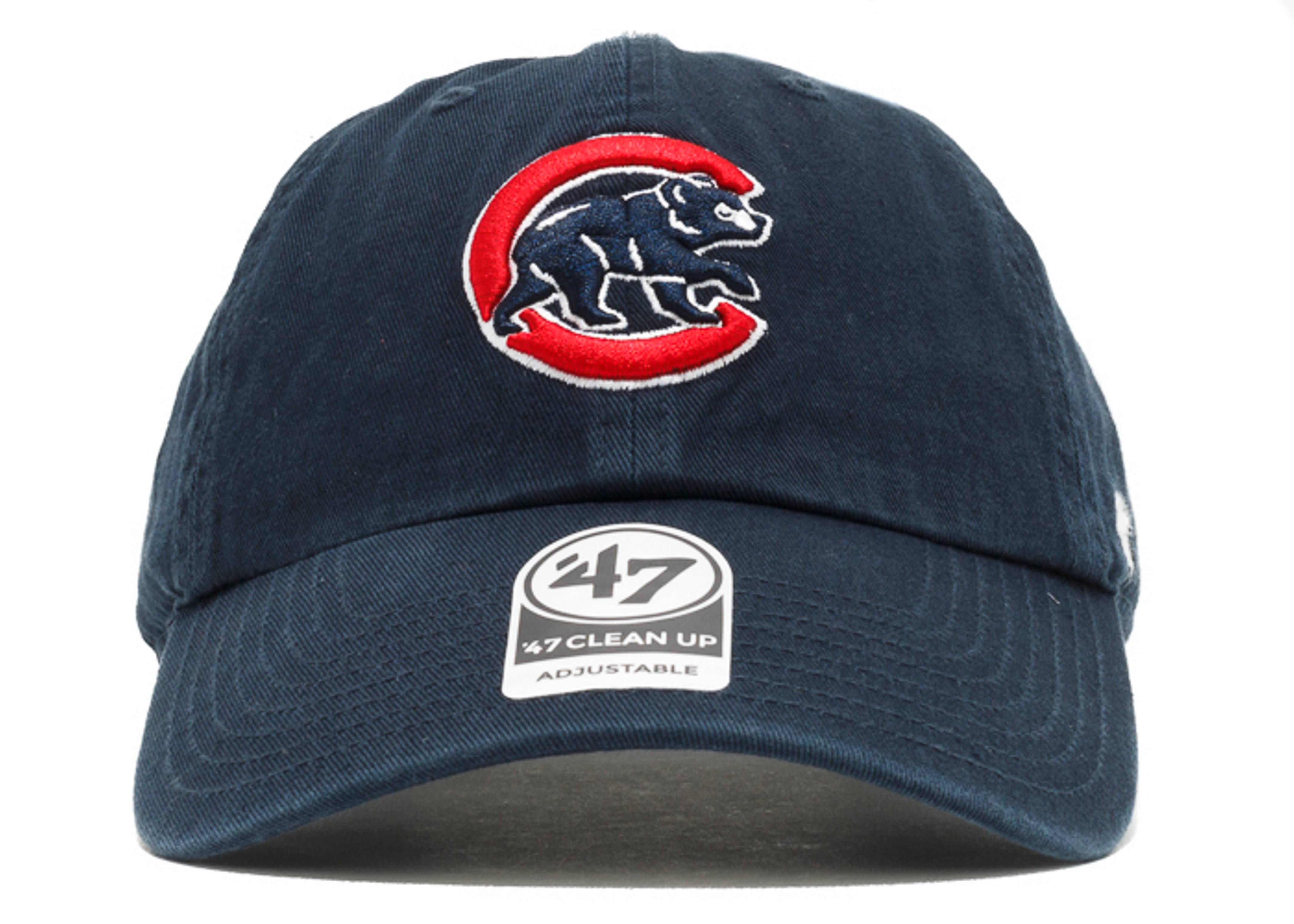 "chicago cubs strap-back ""alternate logo"""