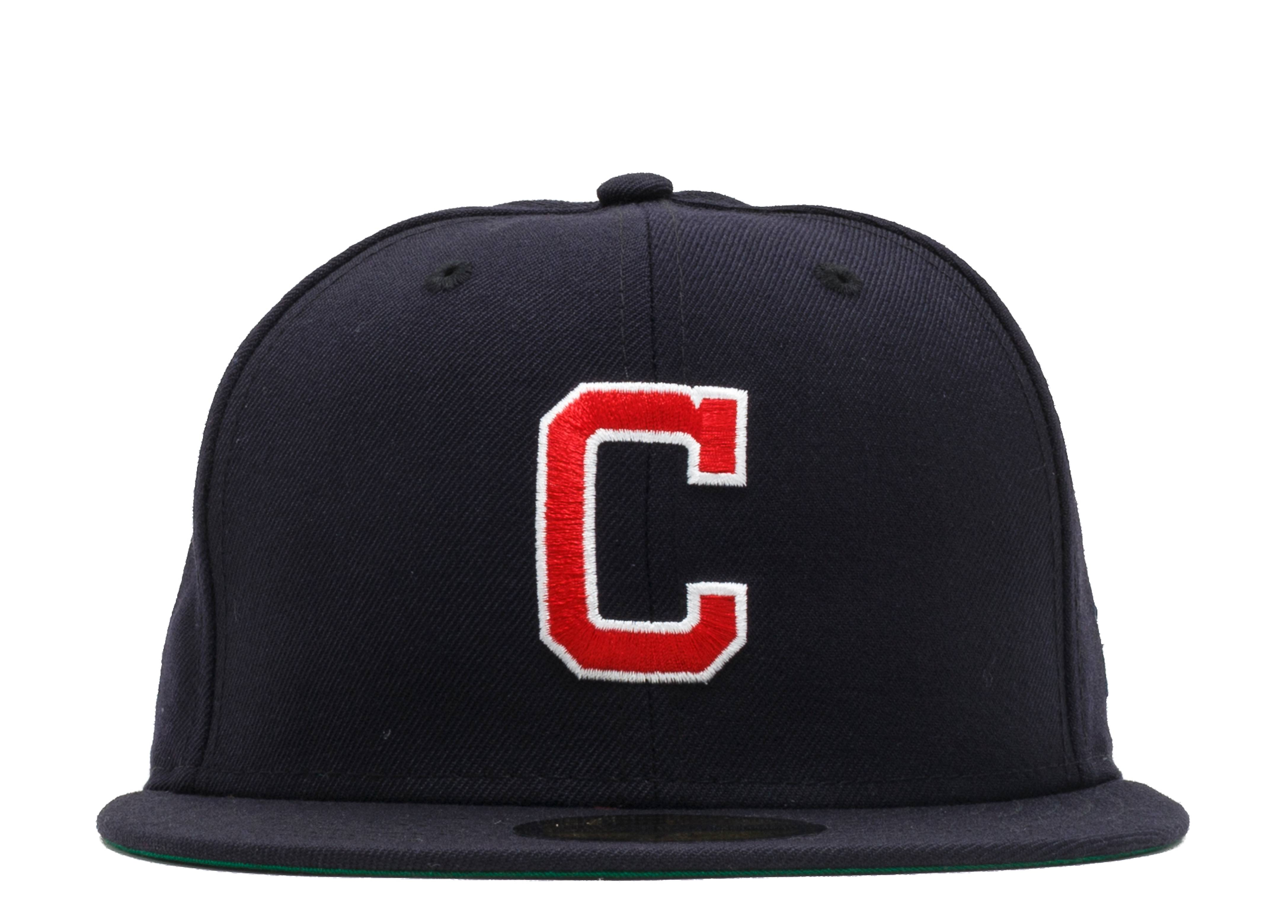 "cleveland indians fitted ""front/back"""