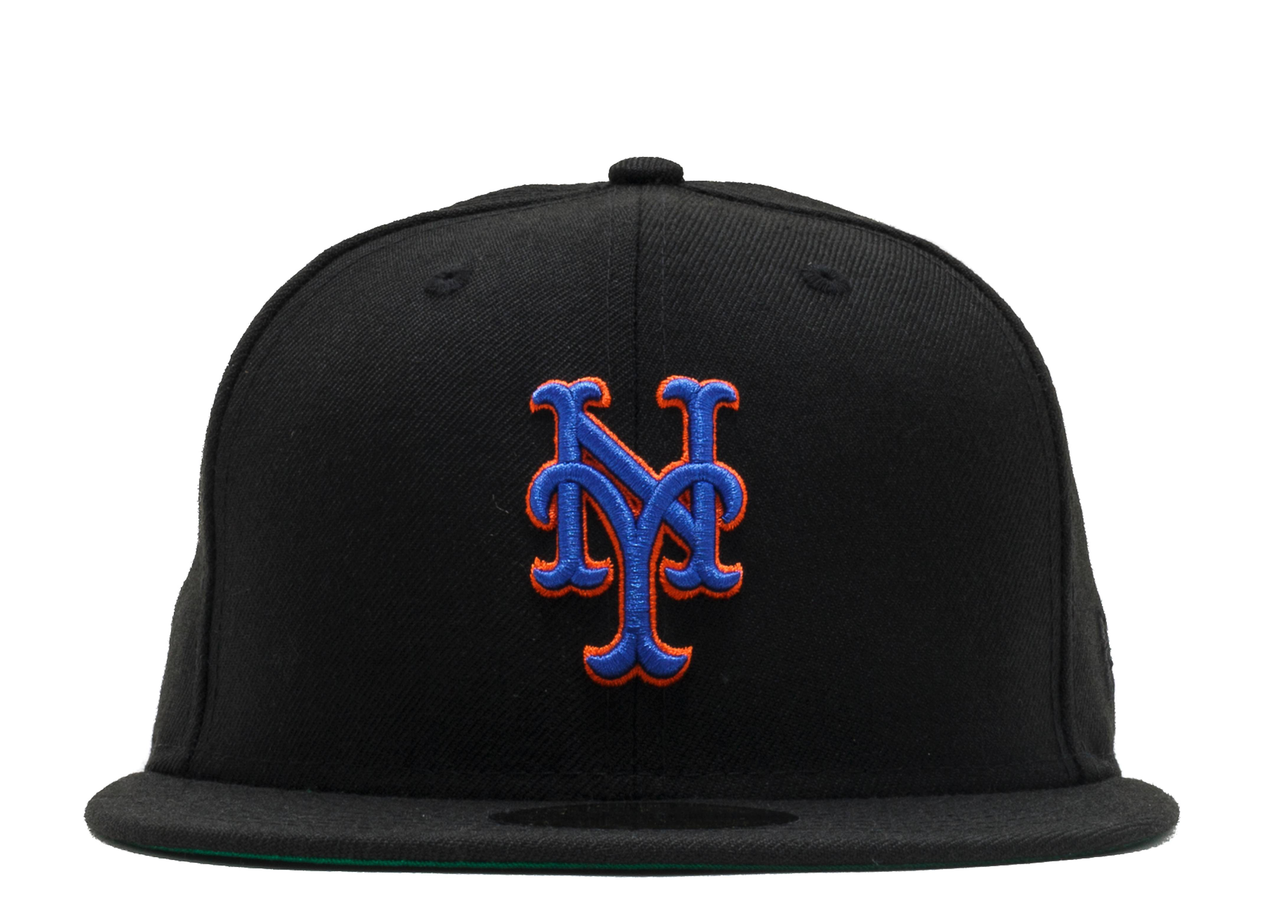 "new york mets fitted ""front/back"""