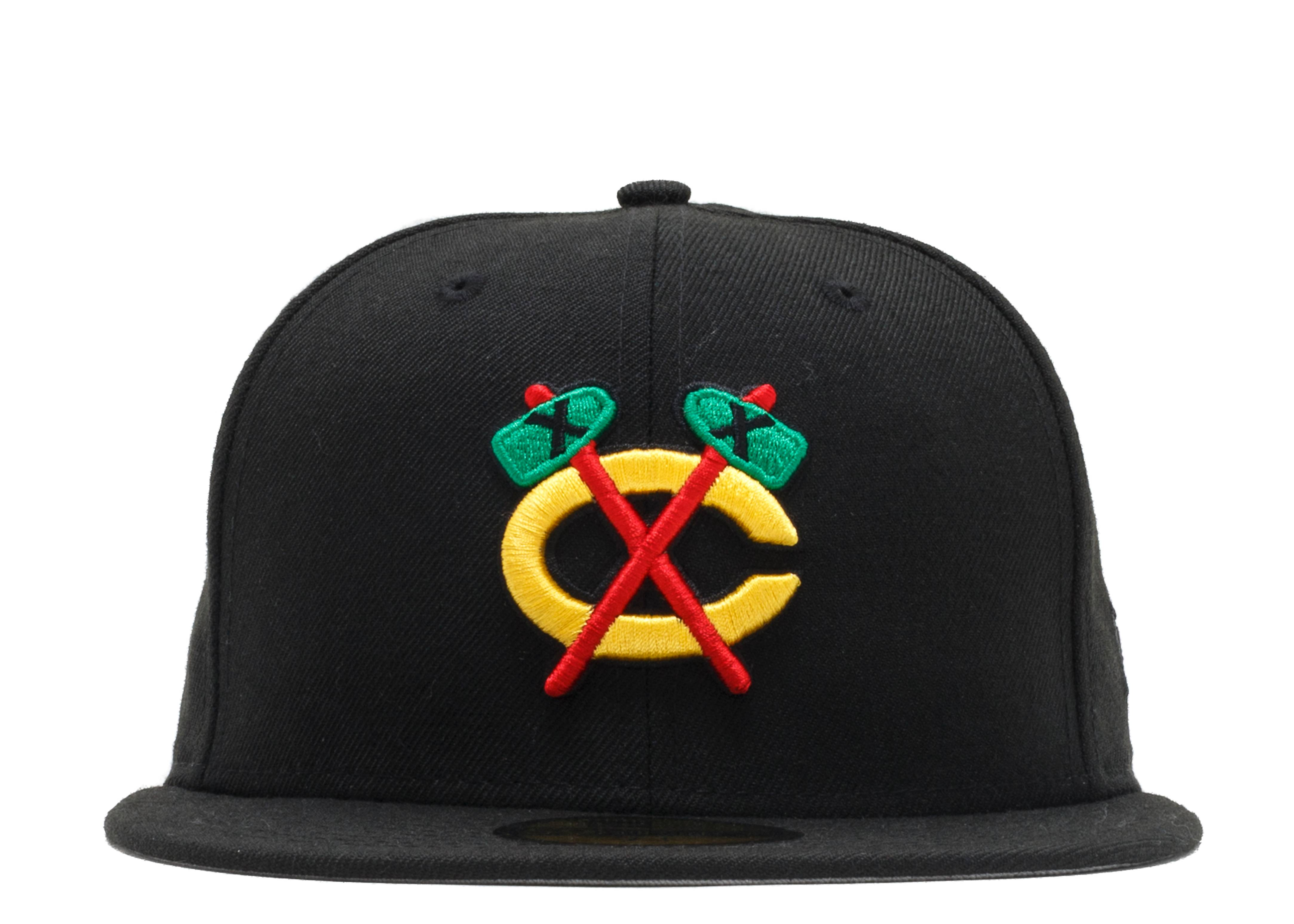 "chicago blackhawks fitted ""front/back"""