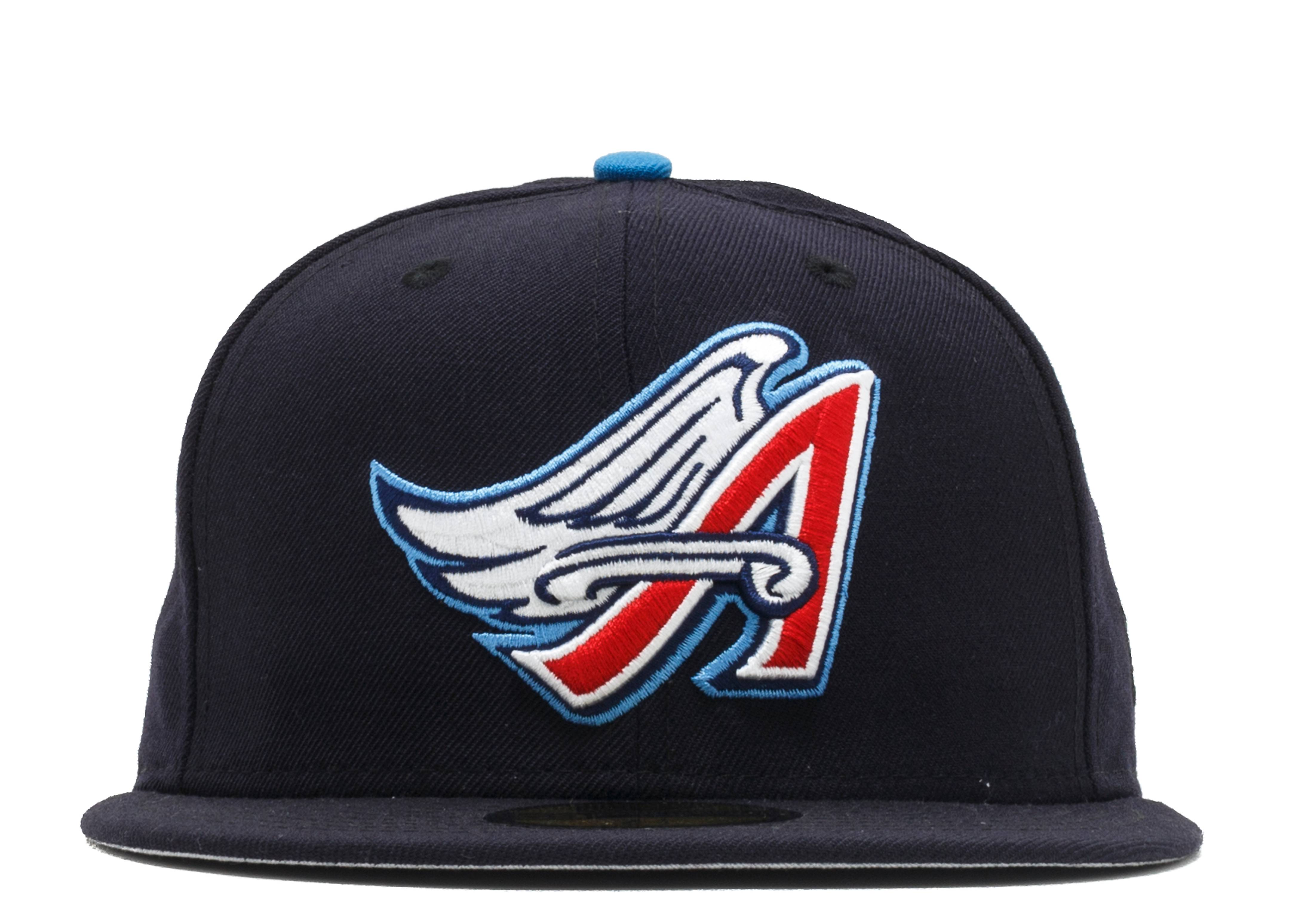 "anaheim angels fitted ""90s logo"""