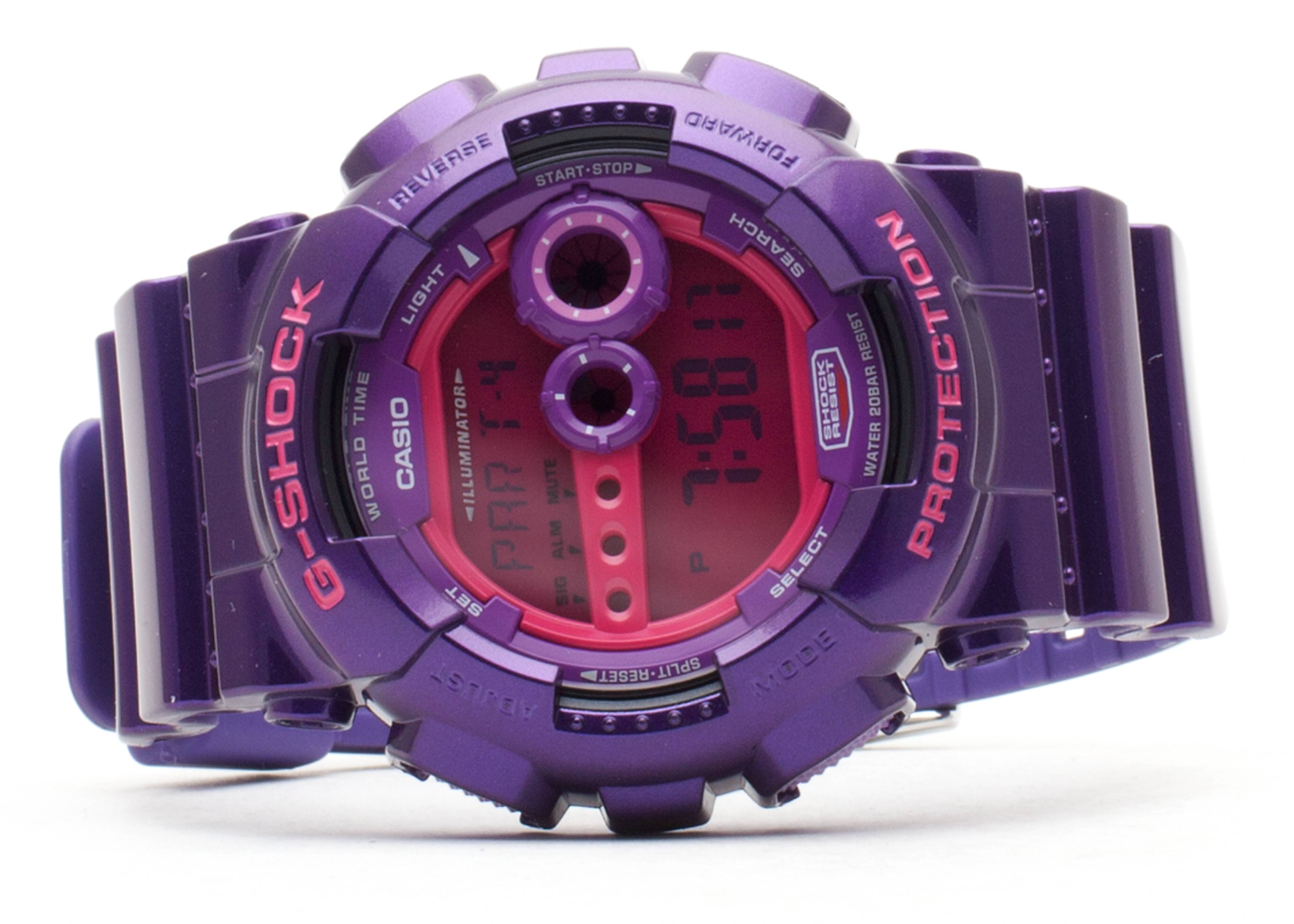 "g-shock gd100sc6cr ""the foundation"""