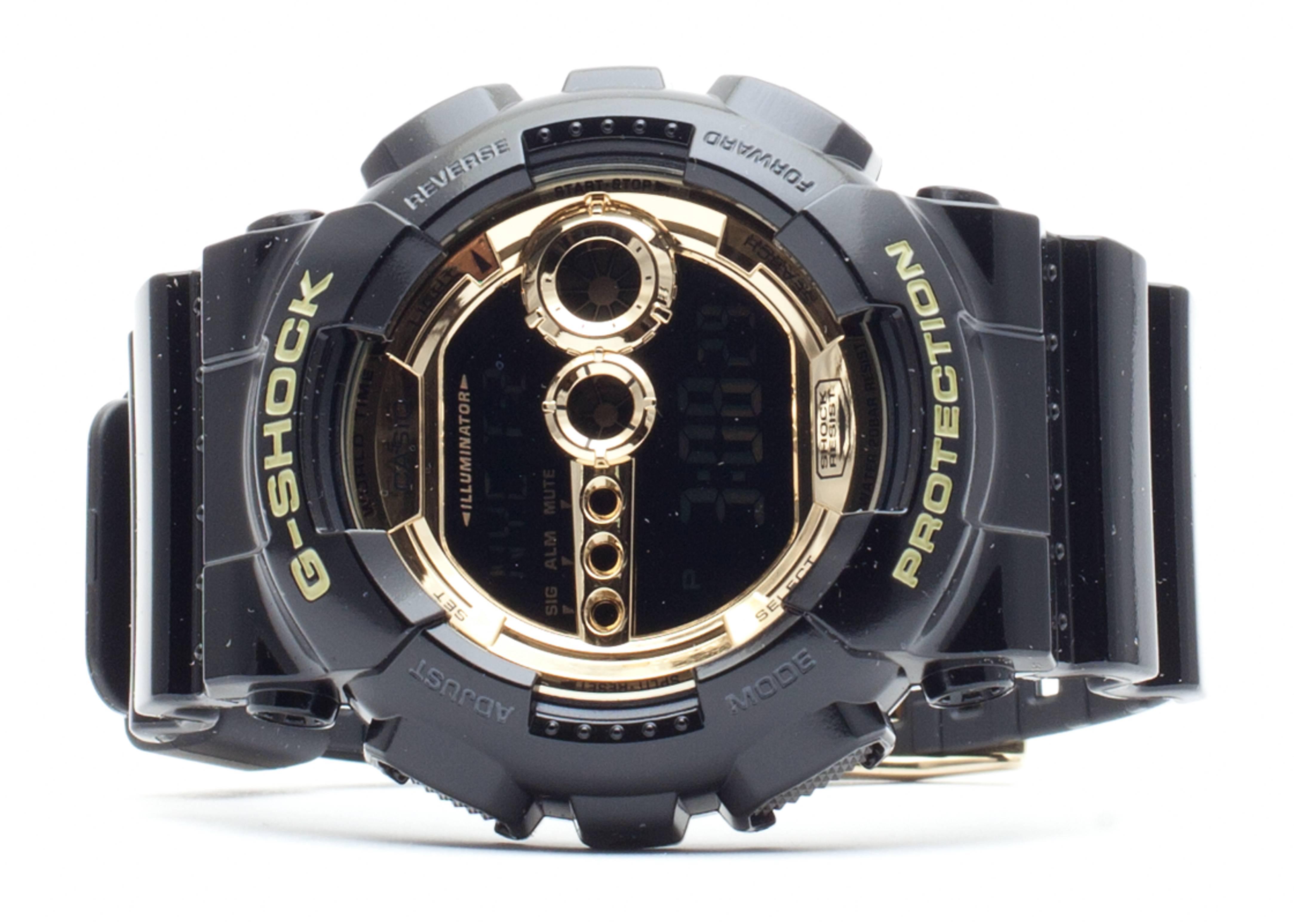 g-shock gd100gb1cr